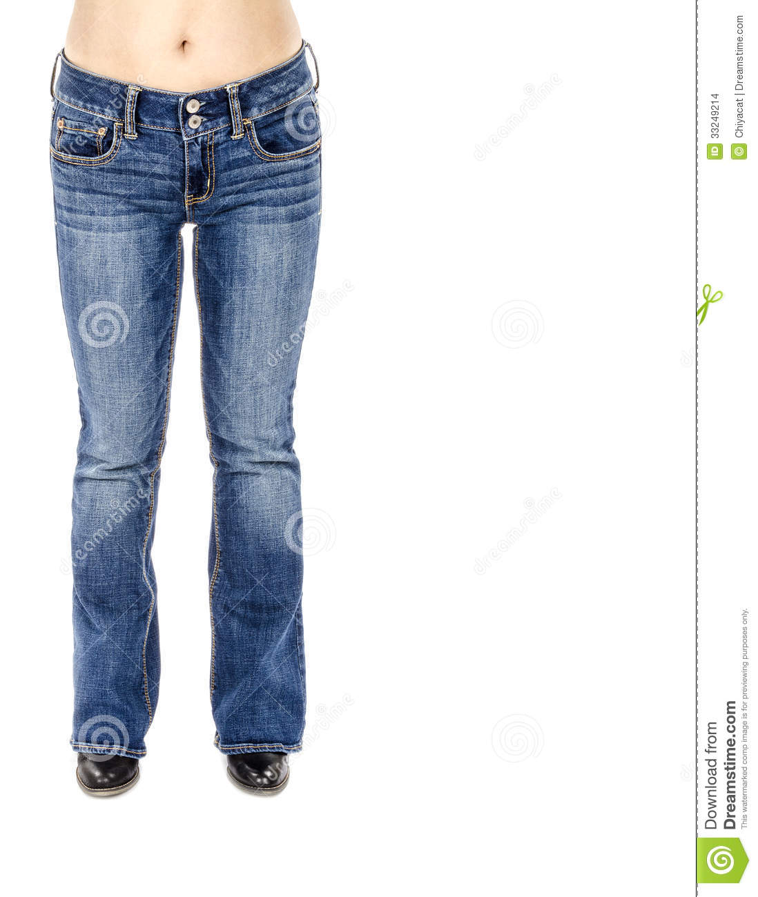 Blue And Black Jeans - Jeans Am
