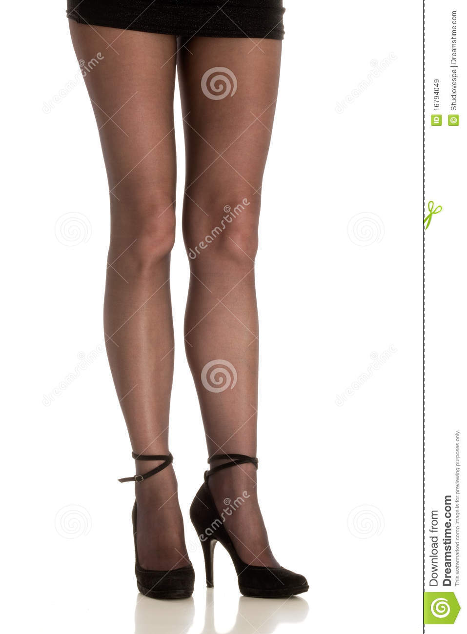 Woman Wearing High Heels Royalty Free Stock Images - Image: 16794049