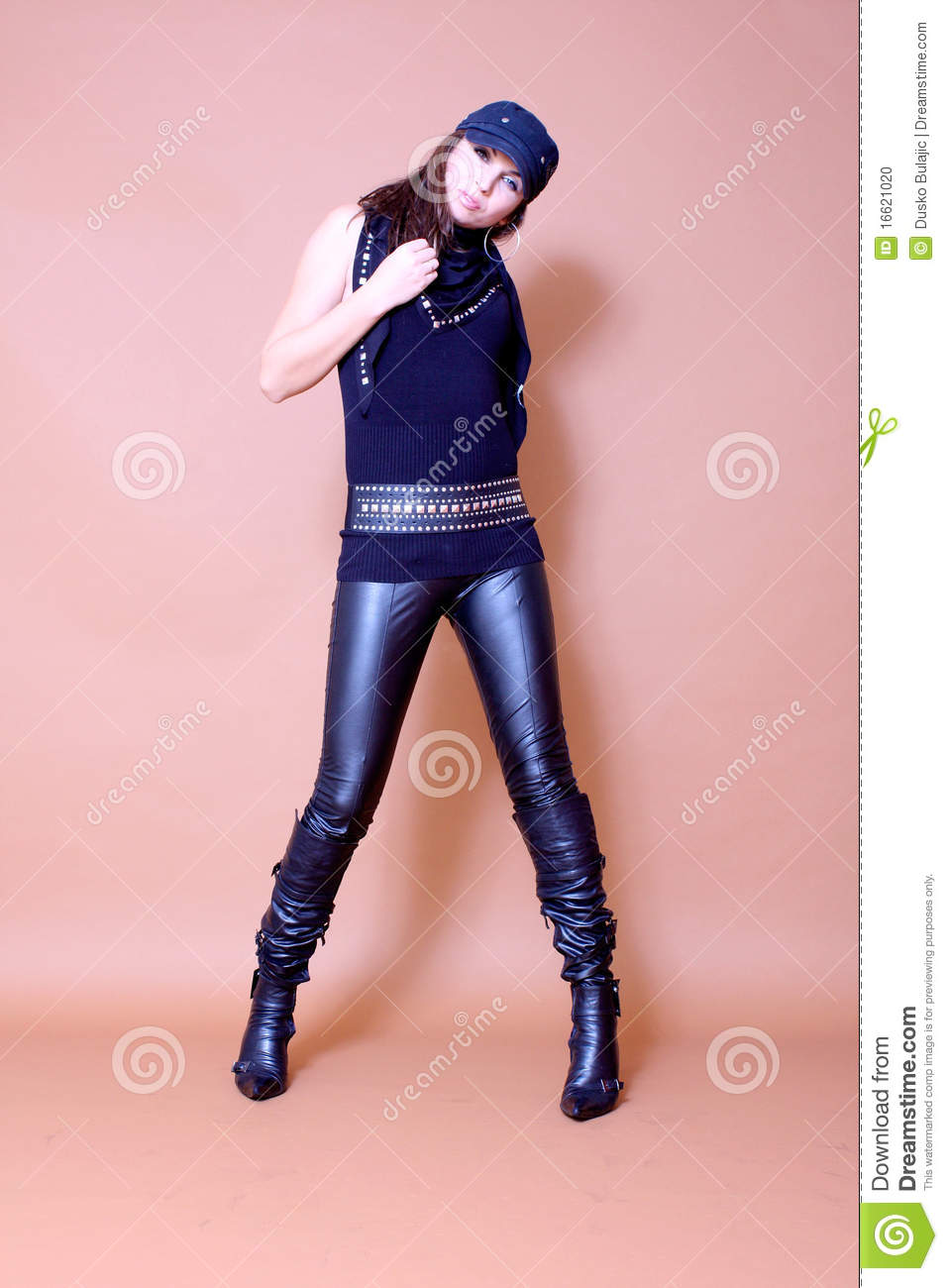 Congratulate, women wearing leather pants topless pic of