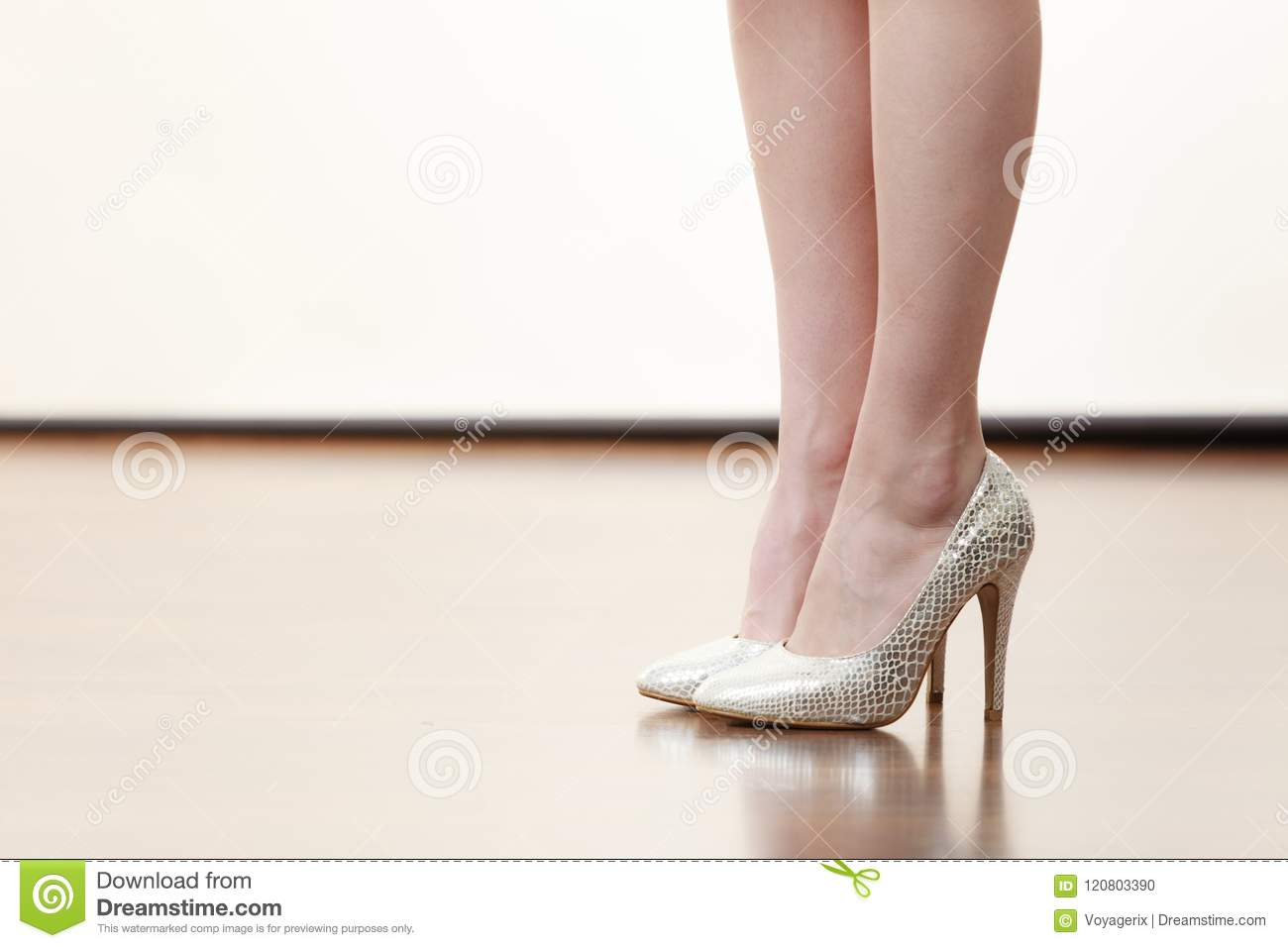 Shaved high heels the purpose