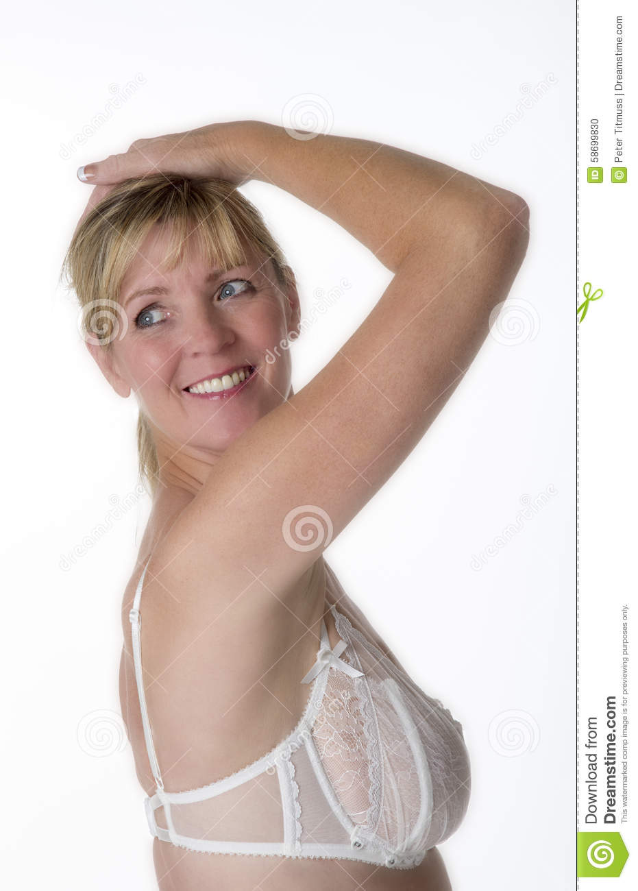 76d38bc44eb2 Woman in underwear looking over her shoulder. More similar stock images