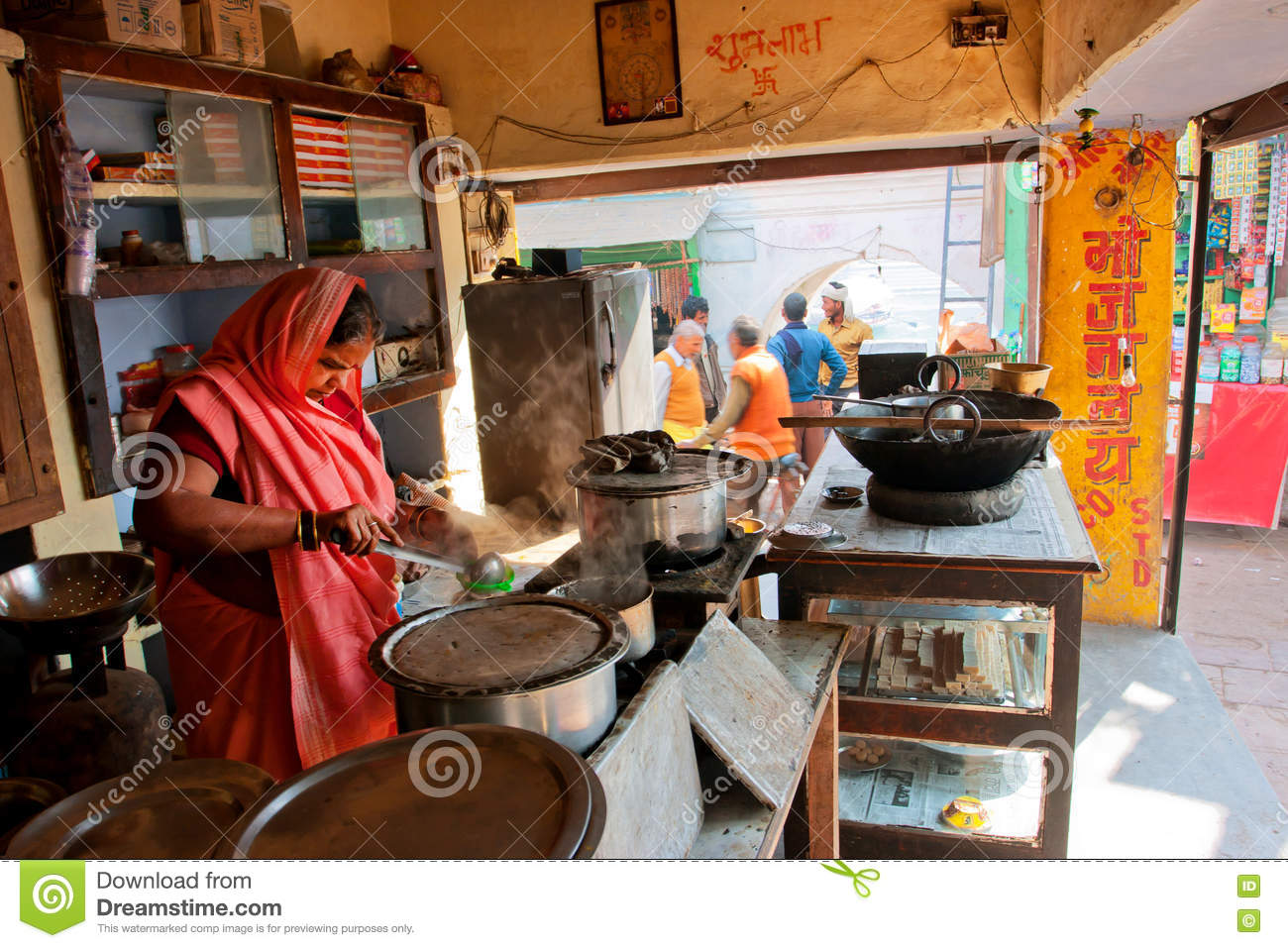 Food street market in pakistan editorial image for City indian dining ltd t a spice trader