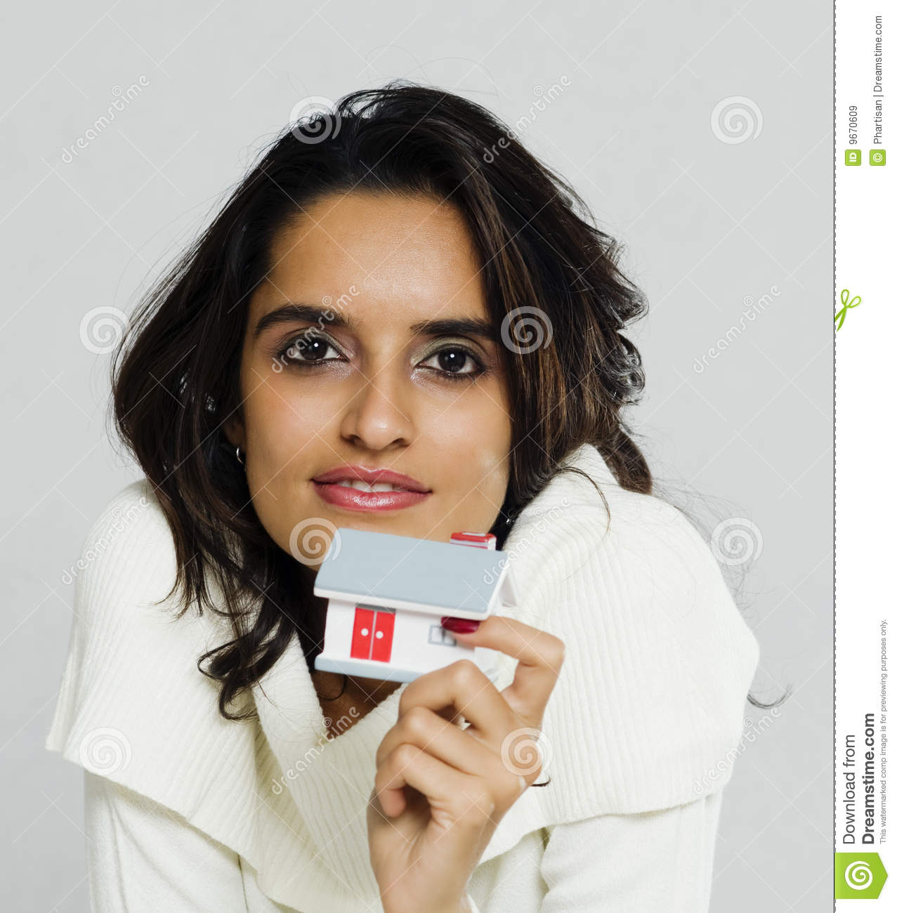 Small model stock photo. Image of face, makeup, image
