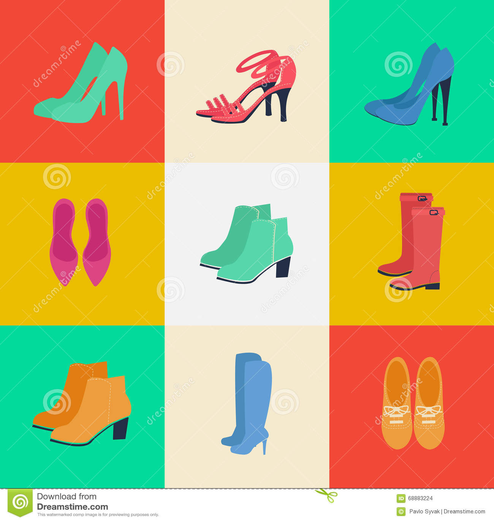 a9491a5fb664 ... greece womens shoes. womens fashion. seasonal shoes. icons set. boots louboutin  shoes