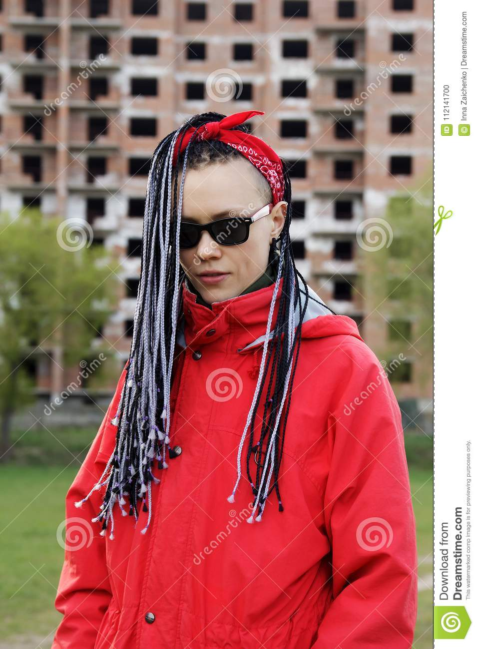 Women With Afrobraids Stock Photo Image Of Dreads Dreadlock