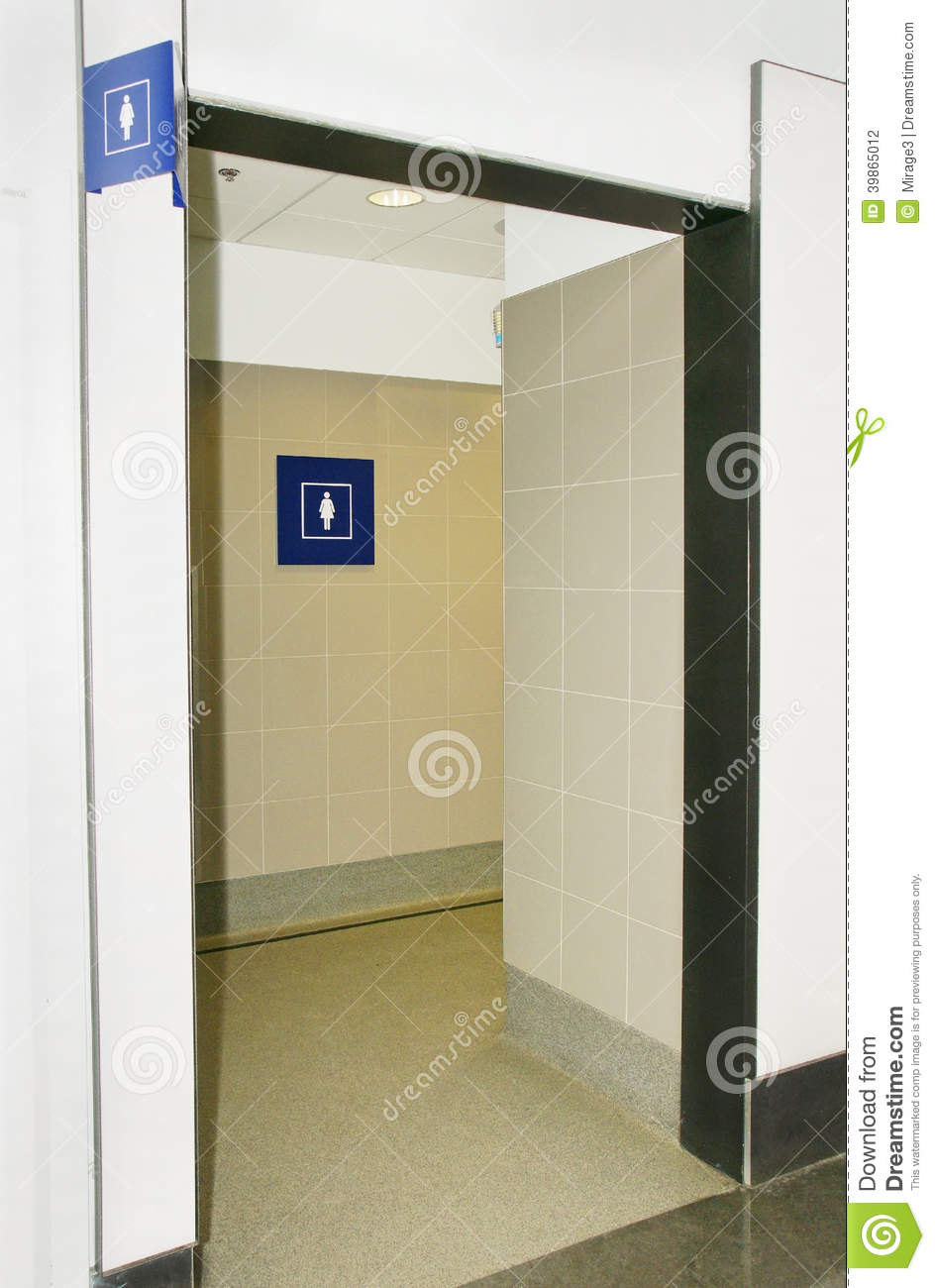 Women Bathroom Stock Photo Image 39865012