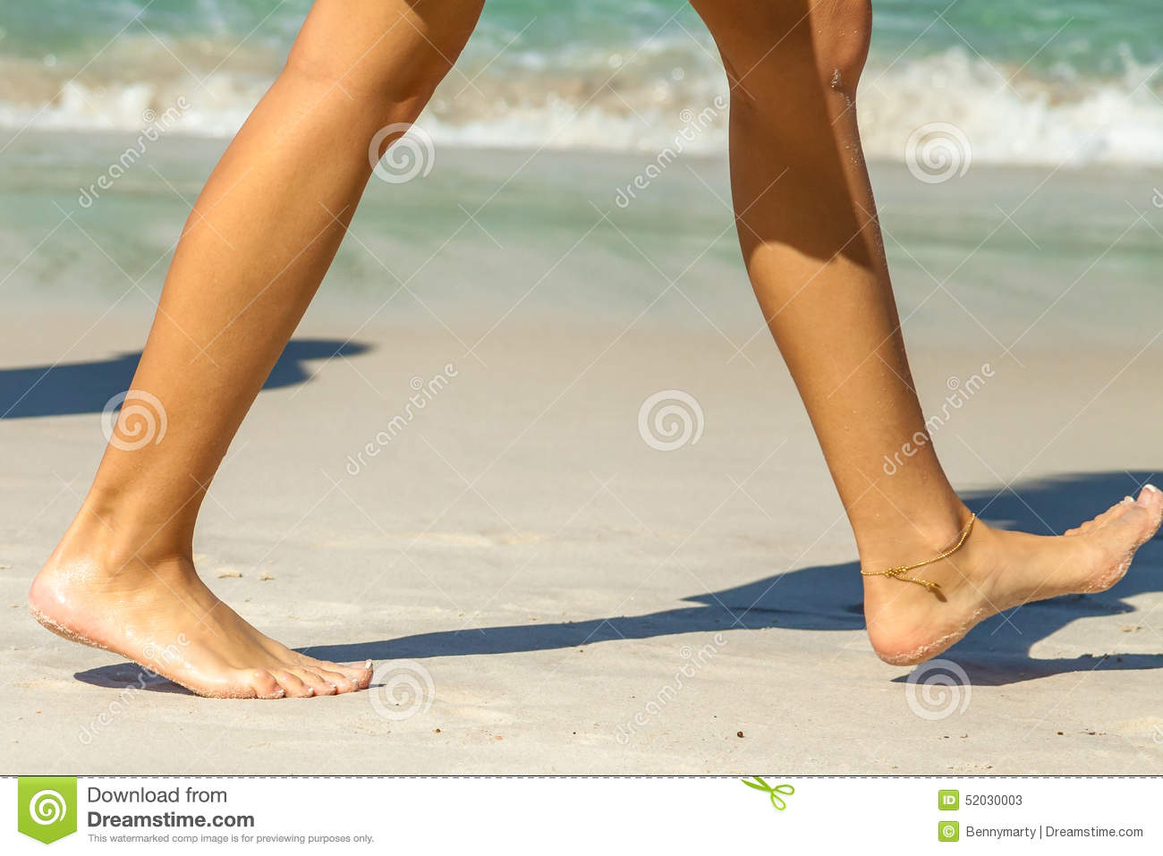 beach Sexy feet at