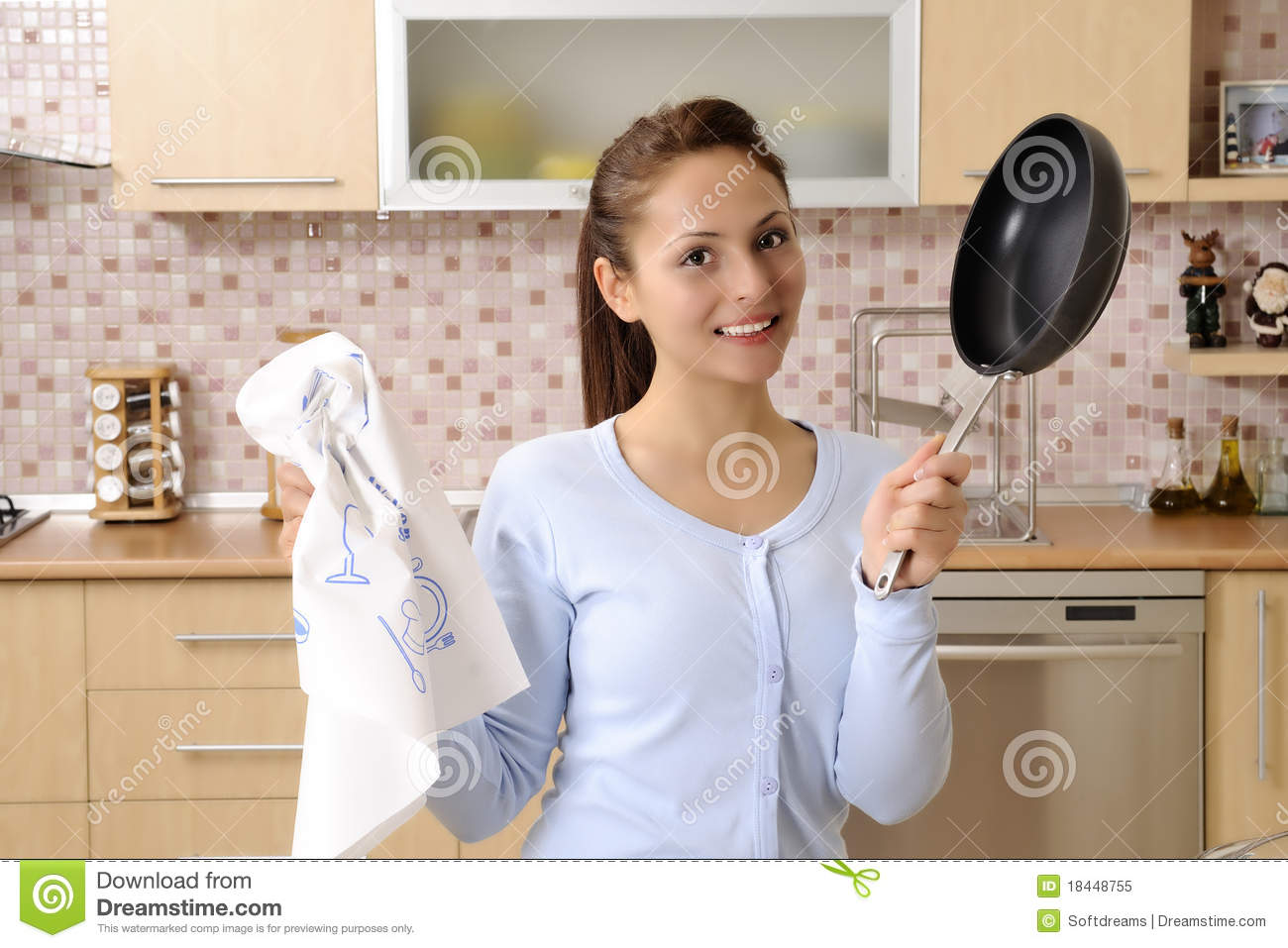women cleaning the house stock image  image of female