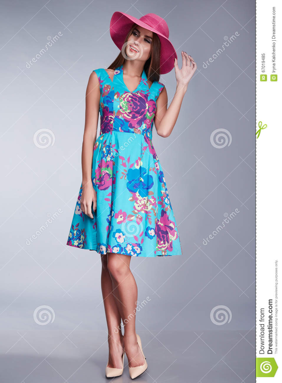 Women Clothing Makeup Catalog Collection Fashion Style Stock Photo Image 67019485
