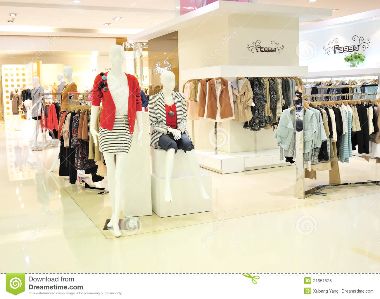 National women's clothing stores