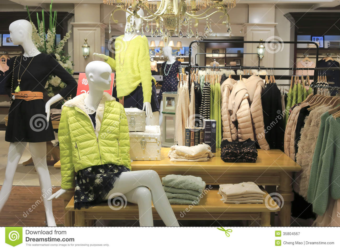 e664336e566b Women Clothing Store In Tesco Market Editorial Photography - Image ...
