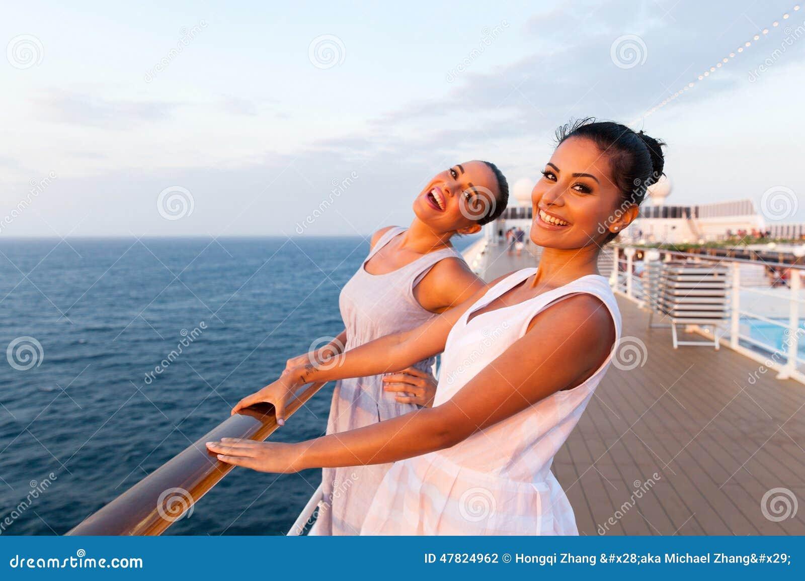 Women cruise ship