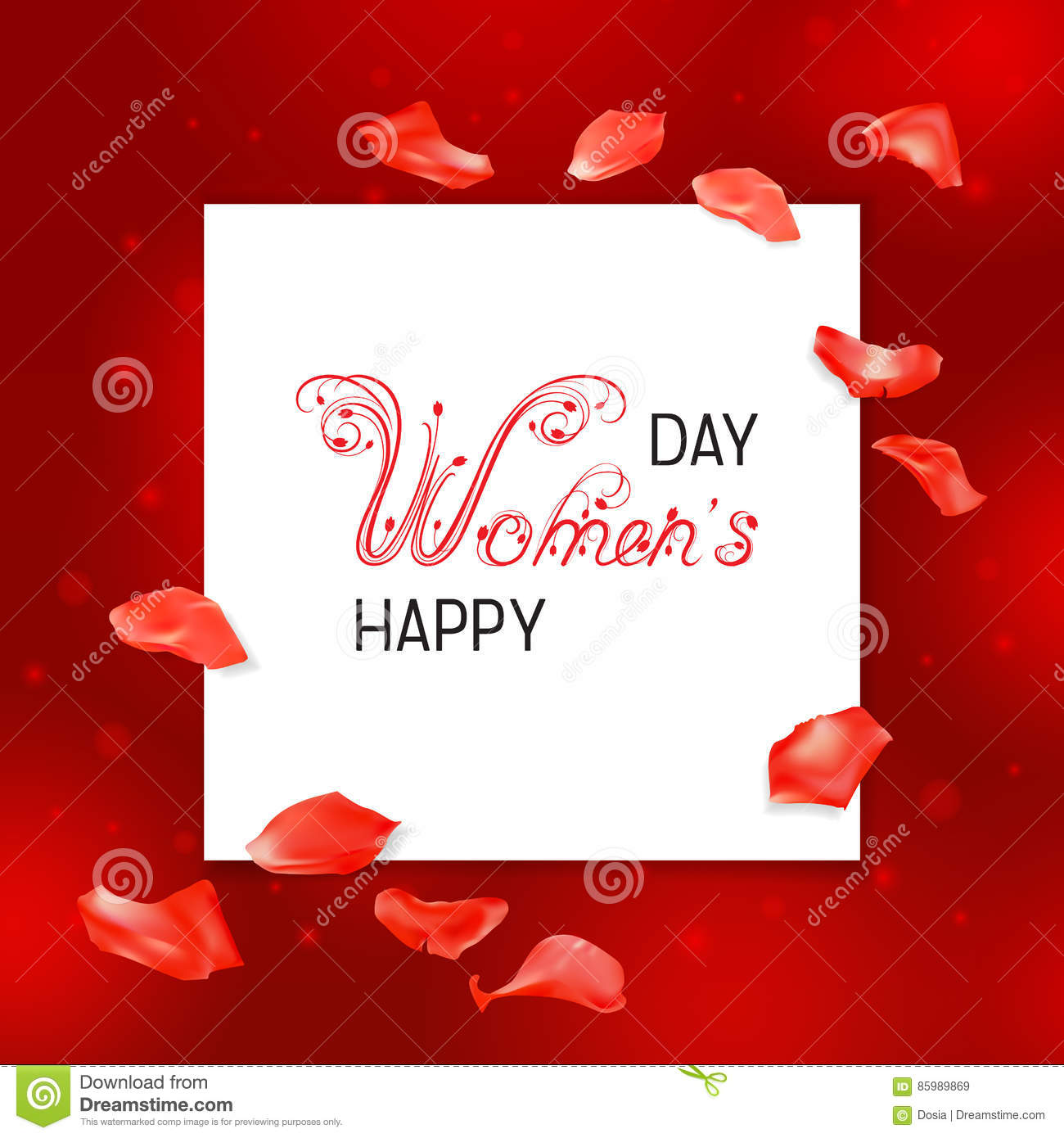 Free Download Women's Day Greeting Card Templates, Designs