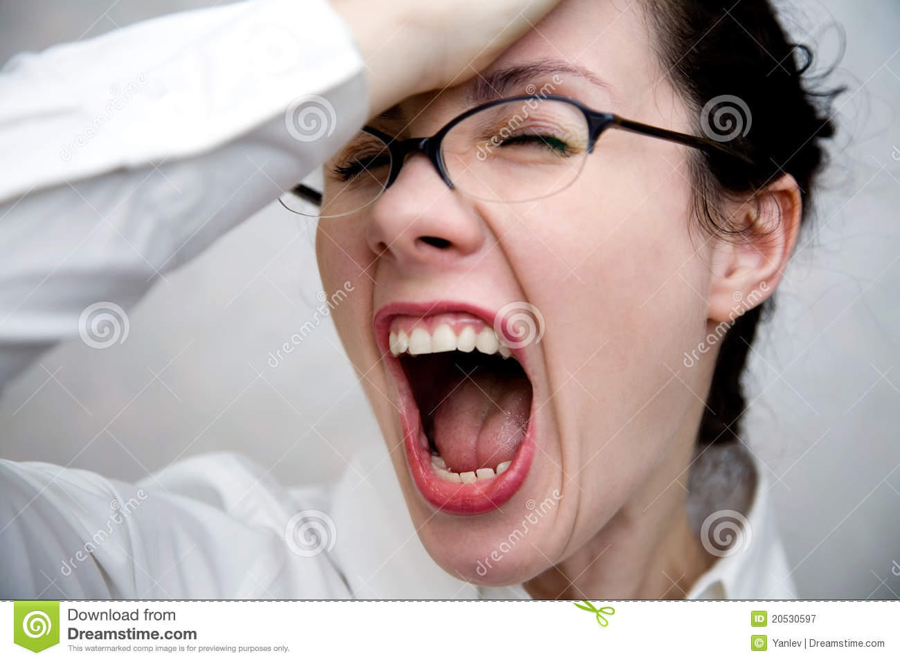 Women In Despair Royalty Free Stock Photography - Image ...