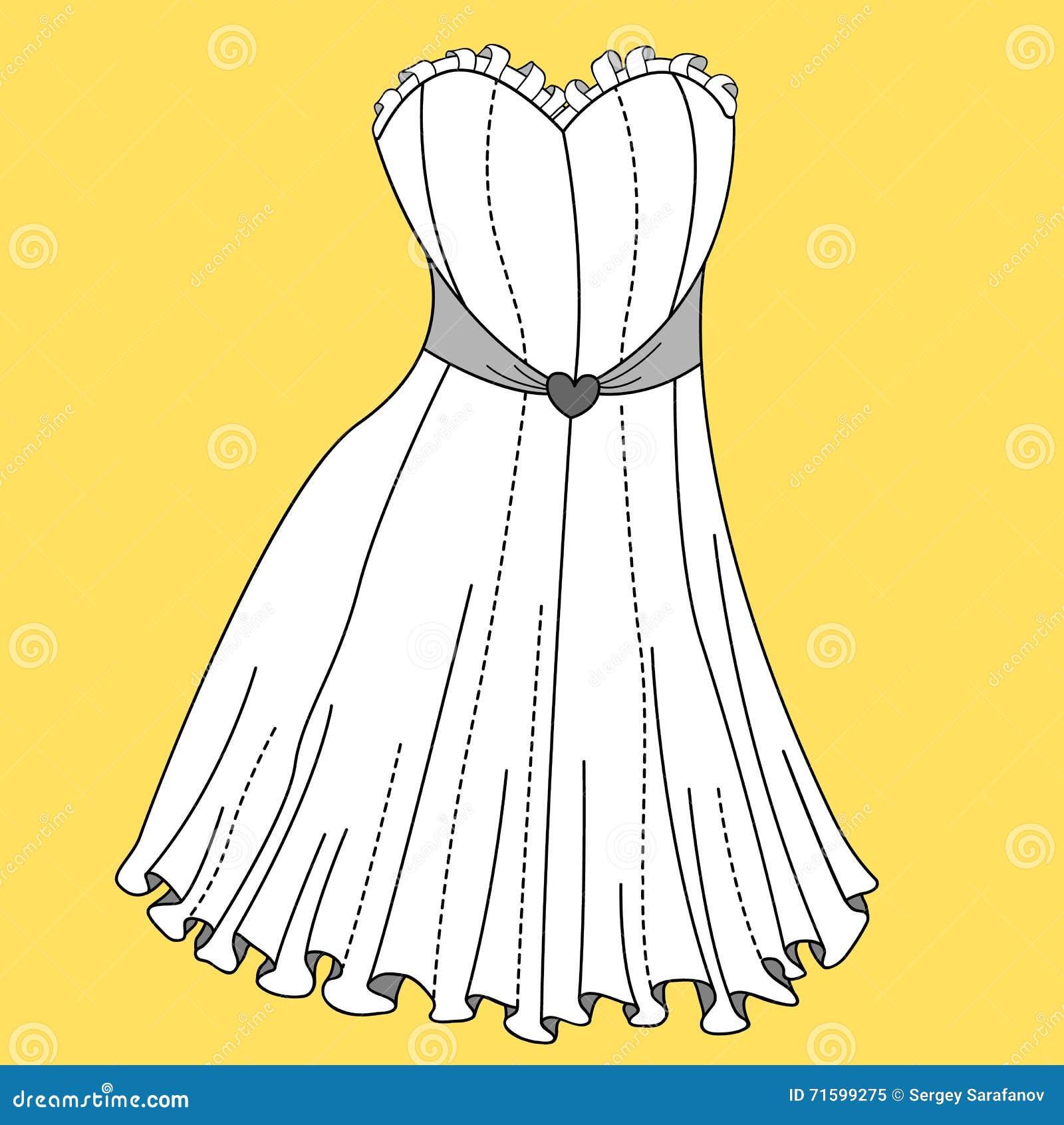 Creative Illustrator Stuff Women39s Dress Fashion Flat Template