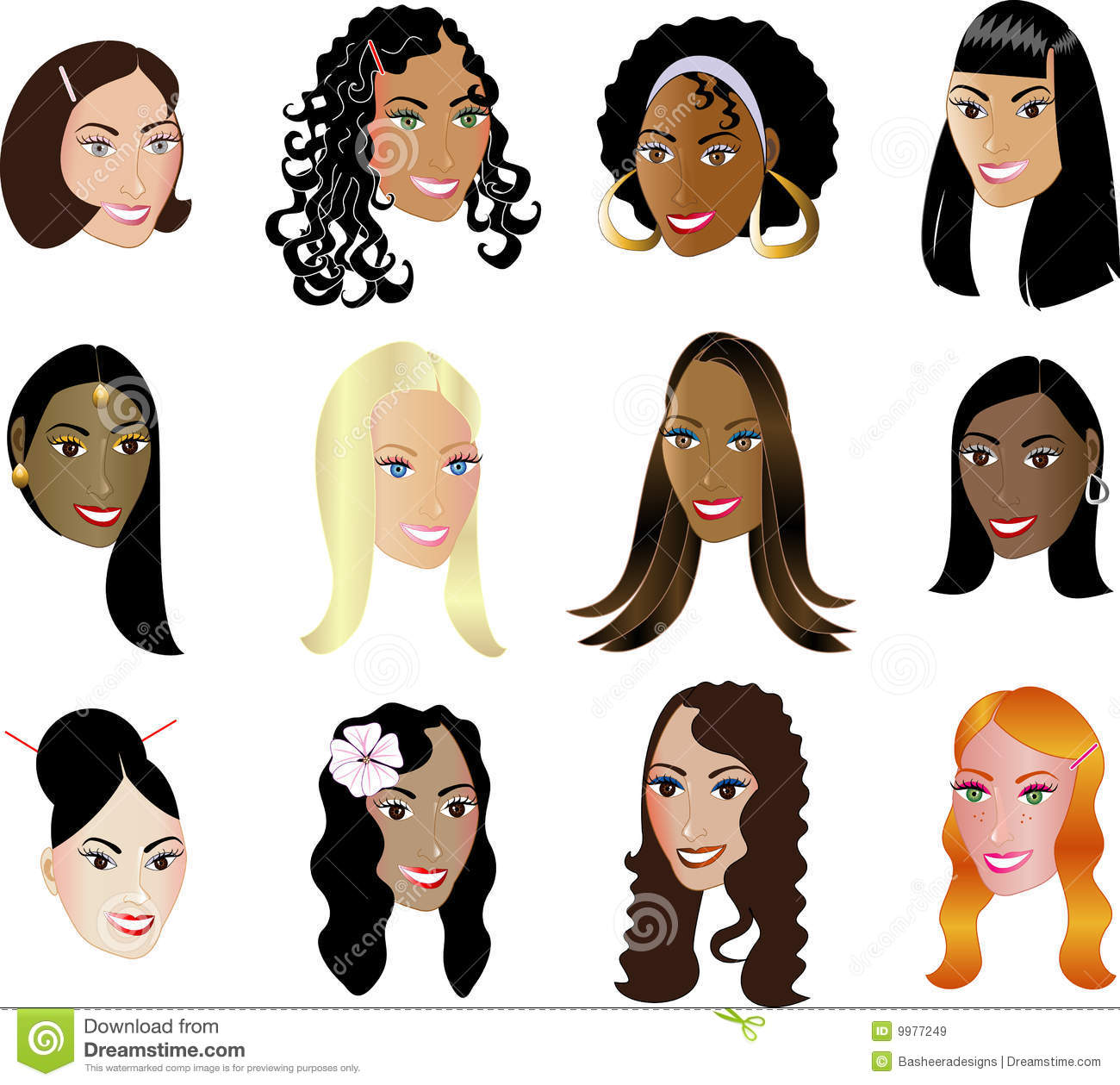 Women Faces Diversity Ethnicity See My Others Royalty