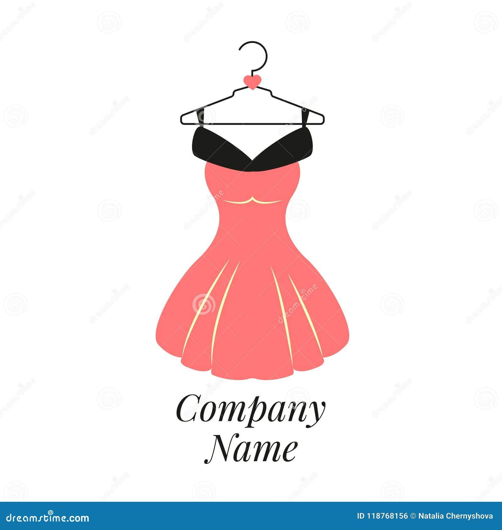 Women fashion logo design template dress emblem stock vector download women fashion logo design template dress emblem stock vector illustration of emblem maxwellsz