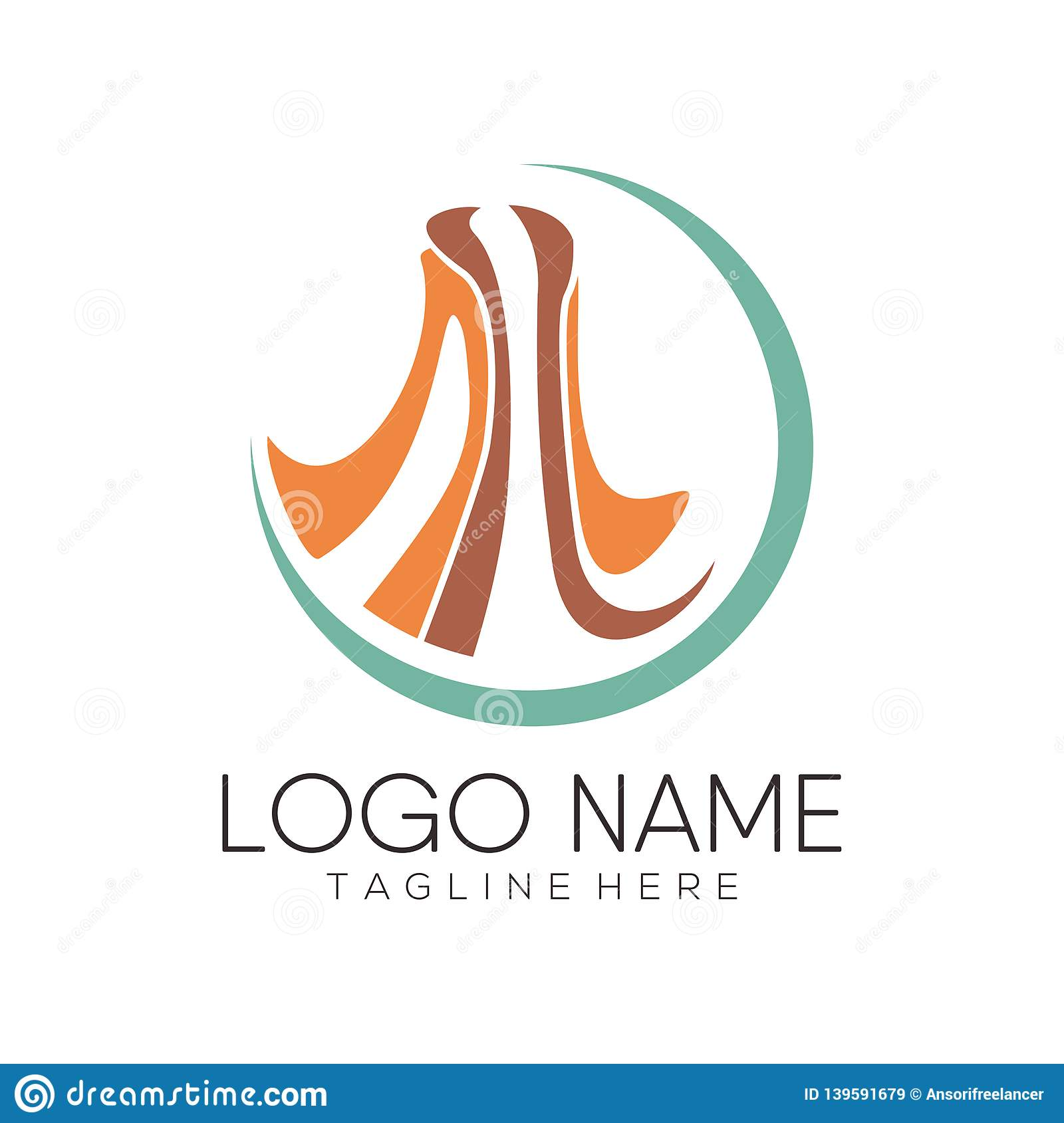 Women Fashion Logo And Icon Design Stock Vector Illustration Of Design Brand 139591679