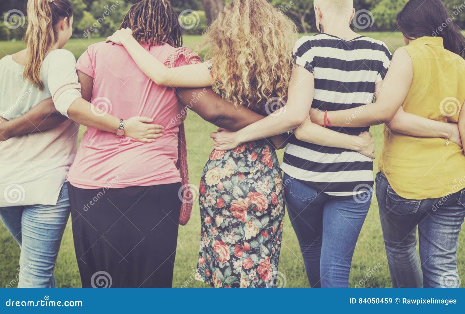 Women Female Feminism Lady Madam Friends Concept