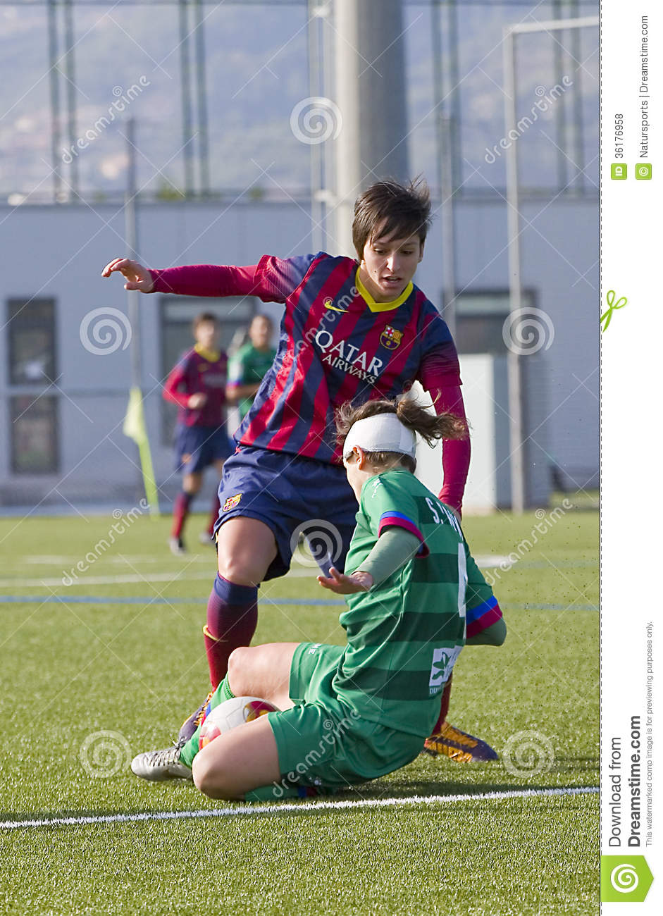 Women football match fc barcelona vs levante editorial stock photo image of levante - Forlady barcelona ...