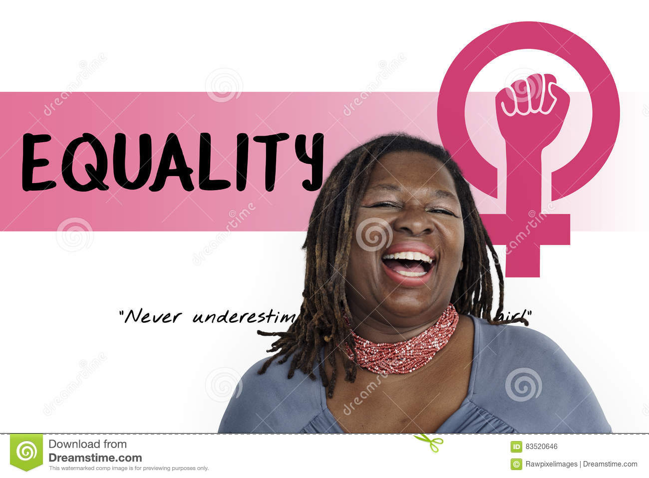 Download Women Girl Power Feminism Equal Opportunity Concept Stock Photo - Image of equal, people: 83520646