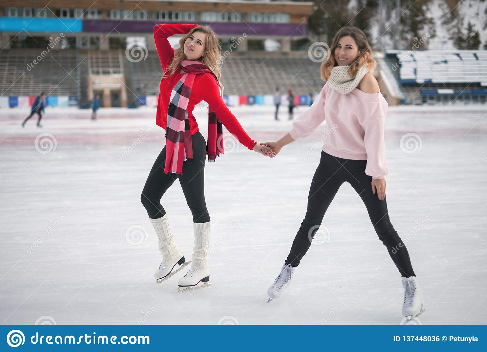 Does not funny ice skating