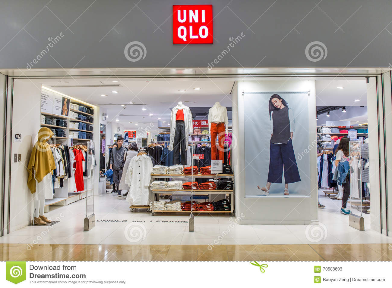 3ea09be7b1ef Women And Men Clothing Shop Editorial Stock Image - Image of design ...