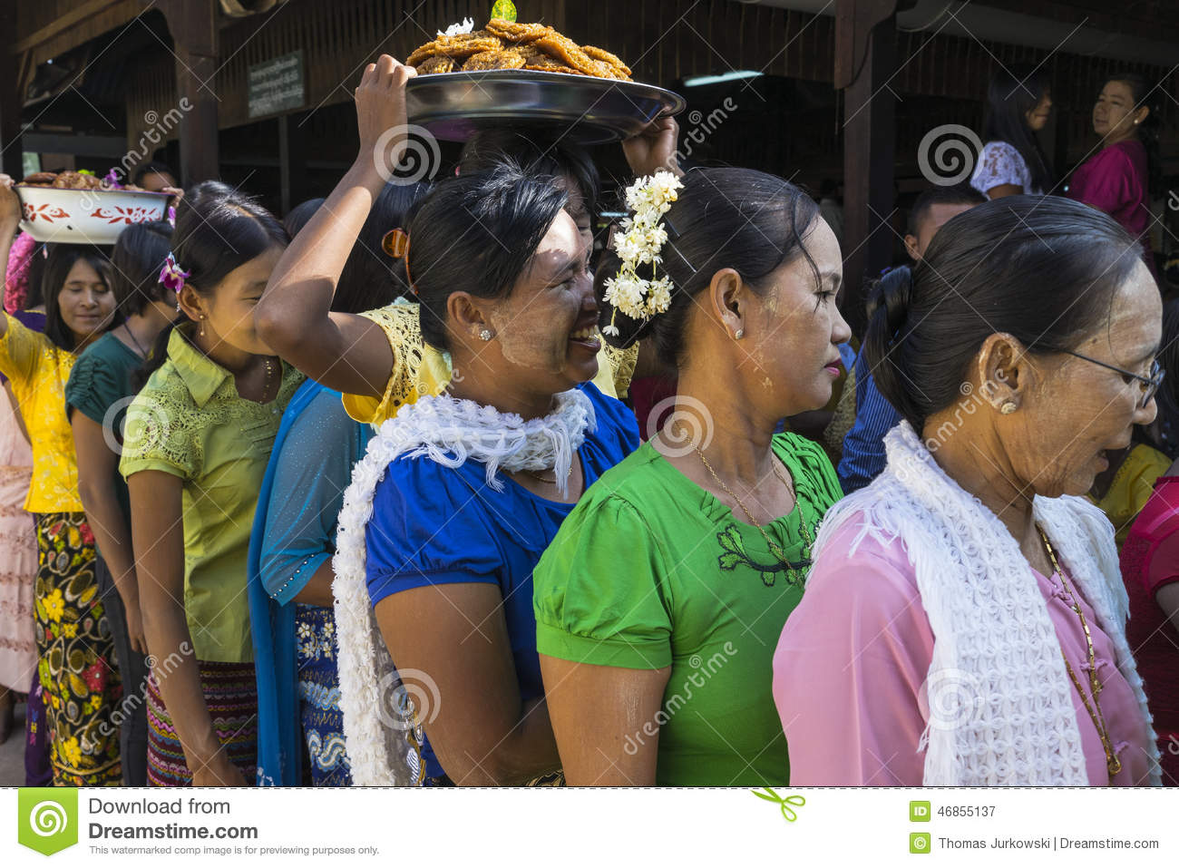 Women in queue editorial photography image of color for Http wikipedia org wiki