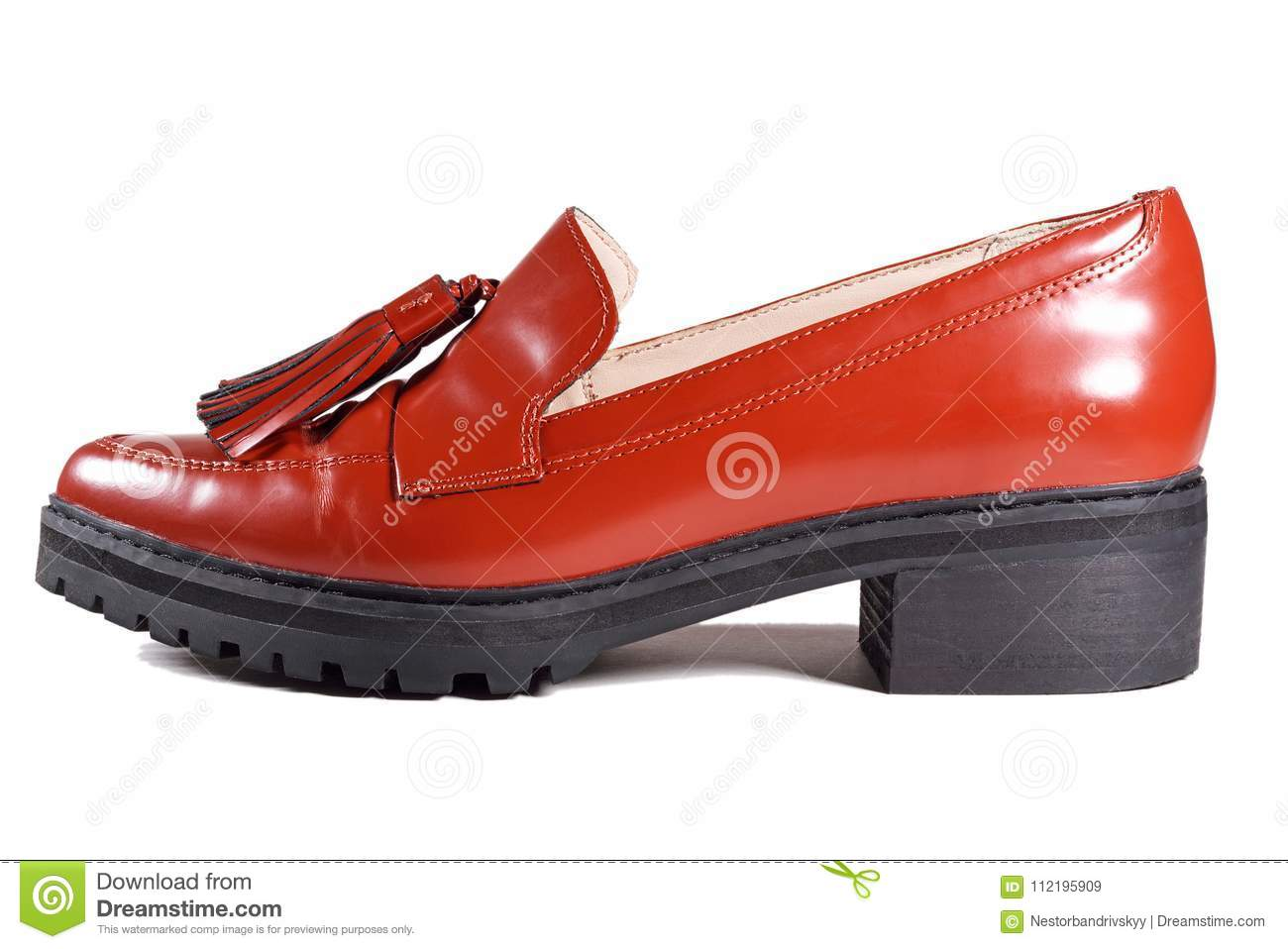 Looks - Looks Womens with red loafers video