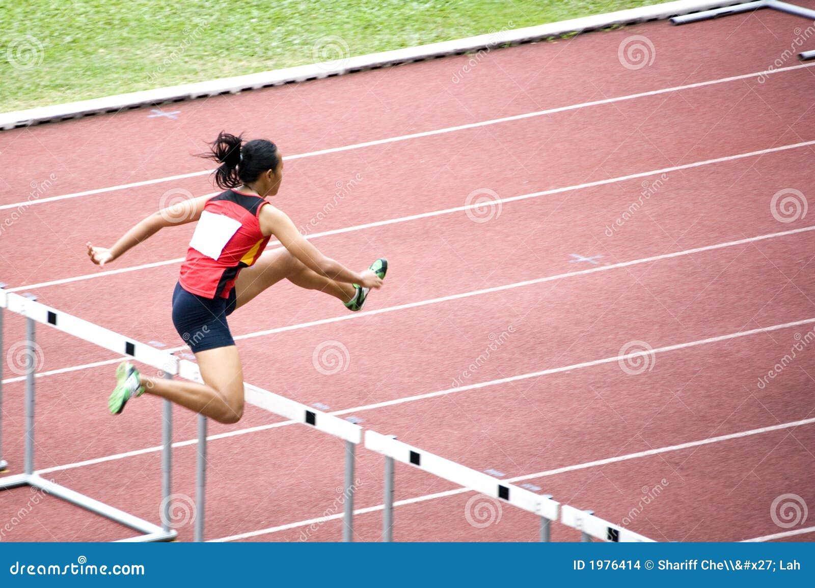 Women's 100m Hurdles Stock Images - Image: 1976414