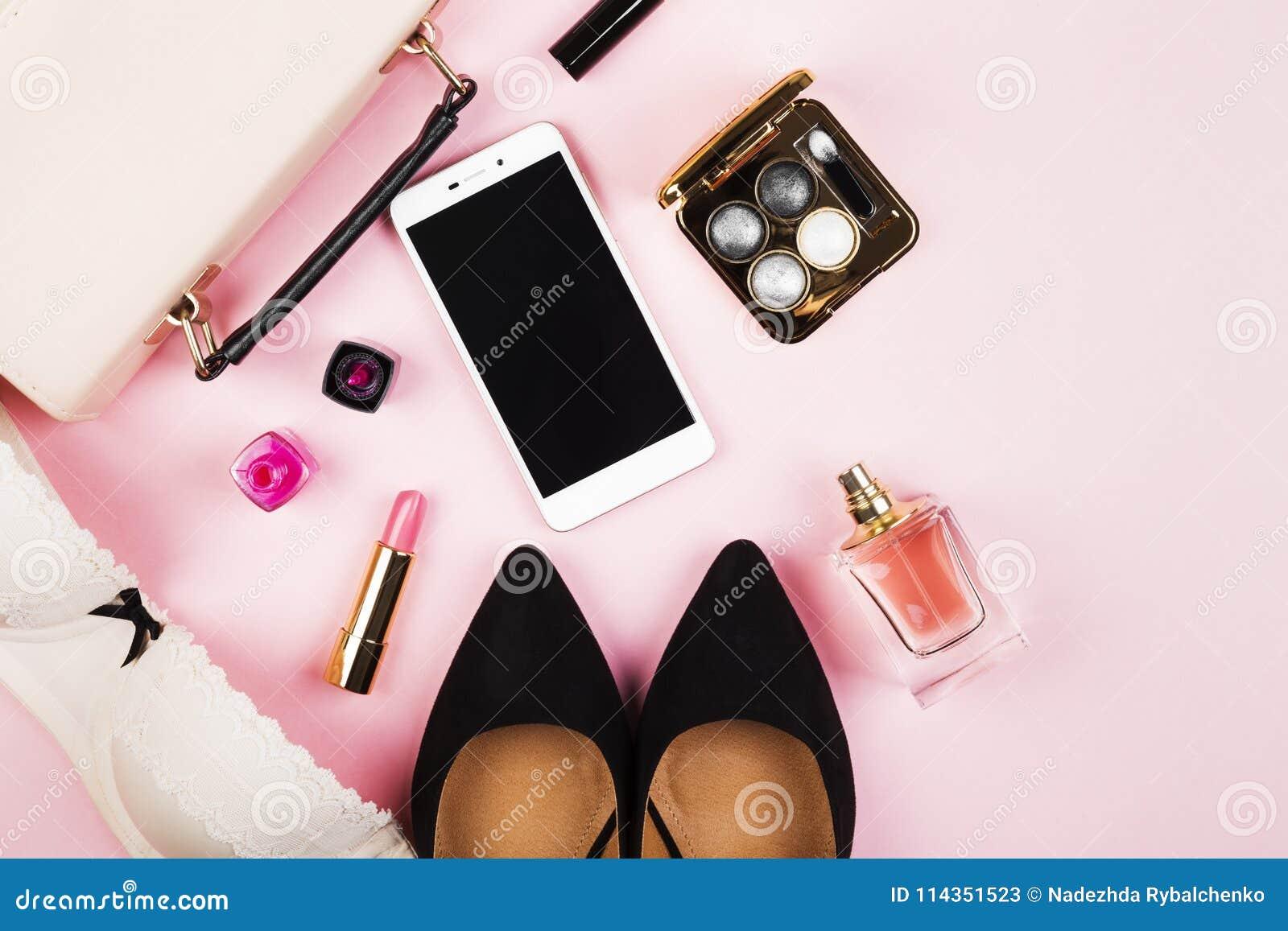 Womens Accessories Shoes Bag Cosmetics Perfume Phone On P Parfum Kopi Parfume Mobil Download
