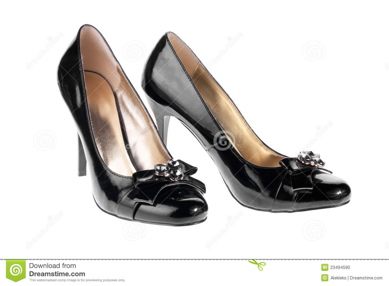 More similar stock images of ` Women s black patent leather shoes