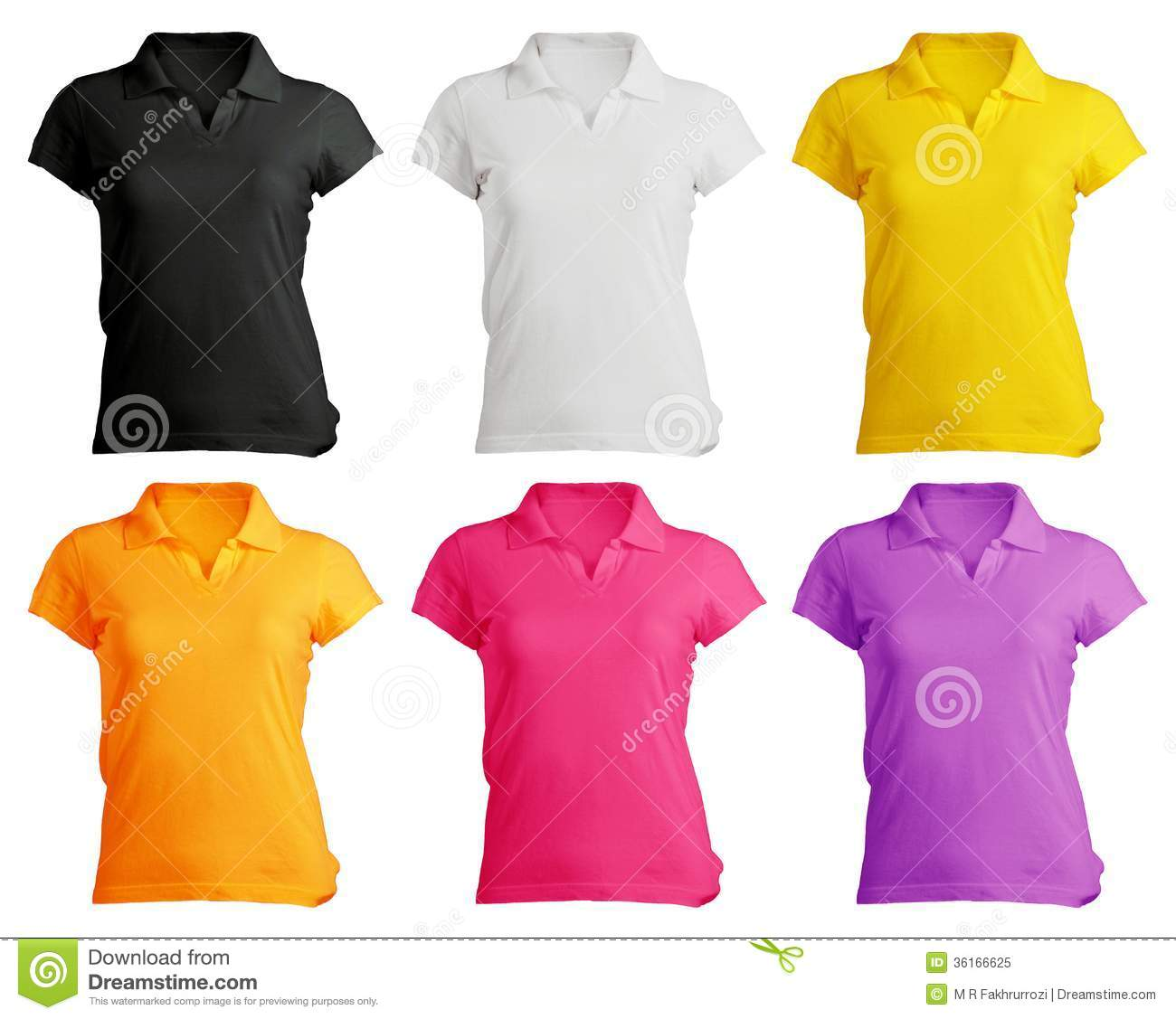Free Polo Shirt Template Clipart and Vector Graphics