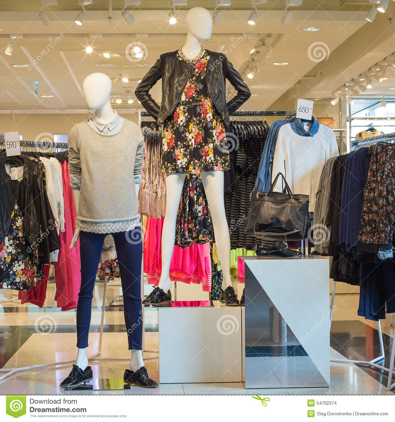 Low market clothing store