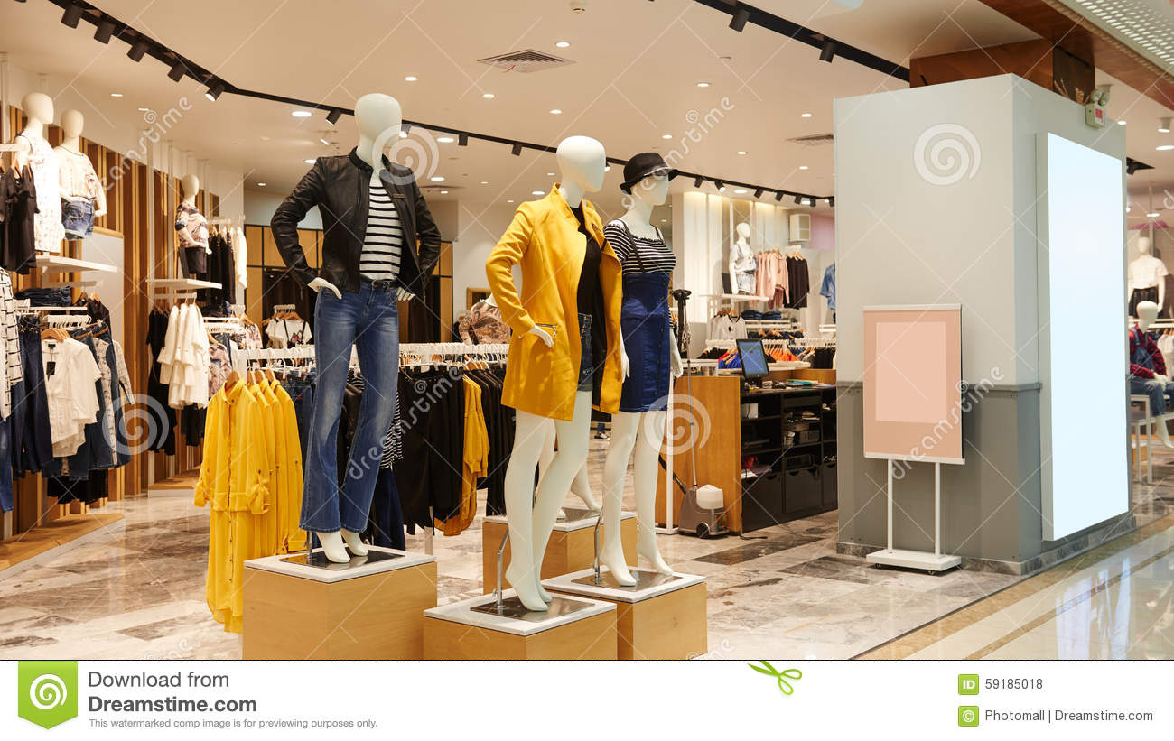 s fashion shop stock photo image of china design