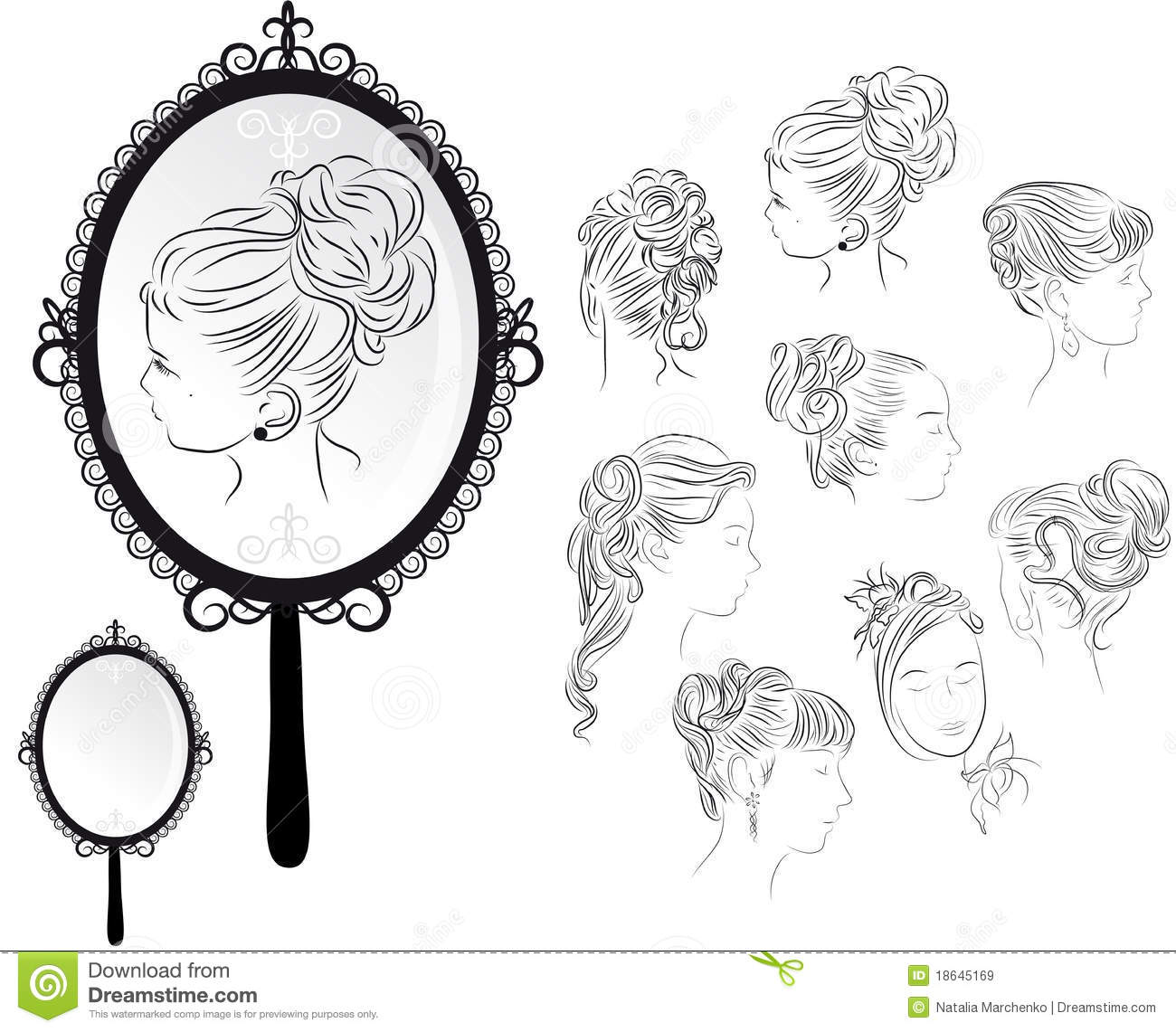 Marie Antoinette Mirror . Limited Edition Collection . Boca do ...