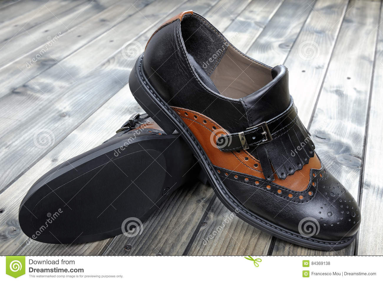 Women`s Shoes On Old Wooden Table. Stock Photo - Image of boots ... 8ff53db08c