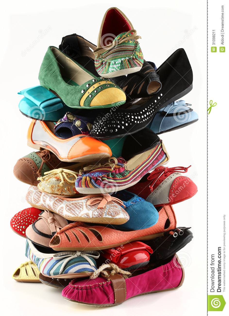 Shoes Stock Image  Image Of High  Monton  Shoes