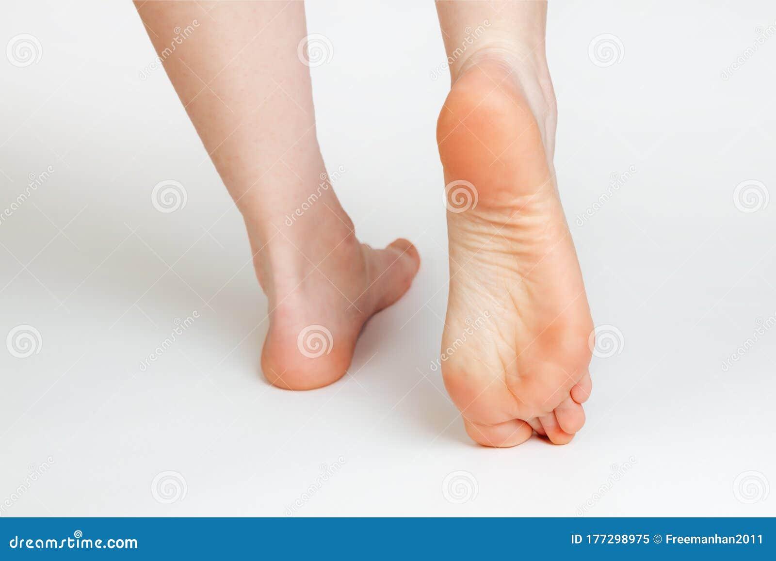 Female Feet Close Up
