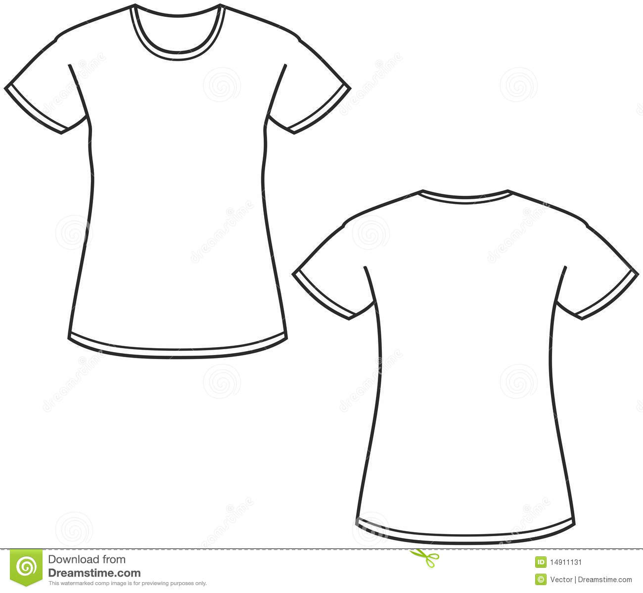 Black t shirt vector free - Women White T Shirt Template Image Information