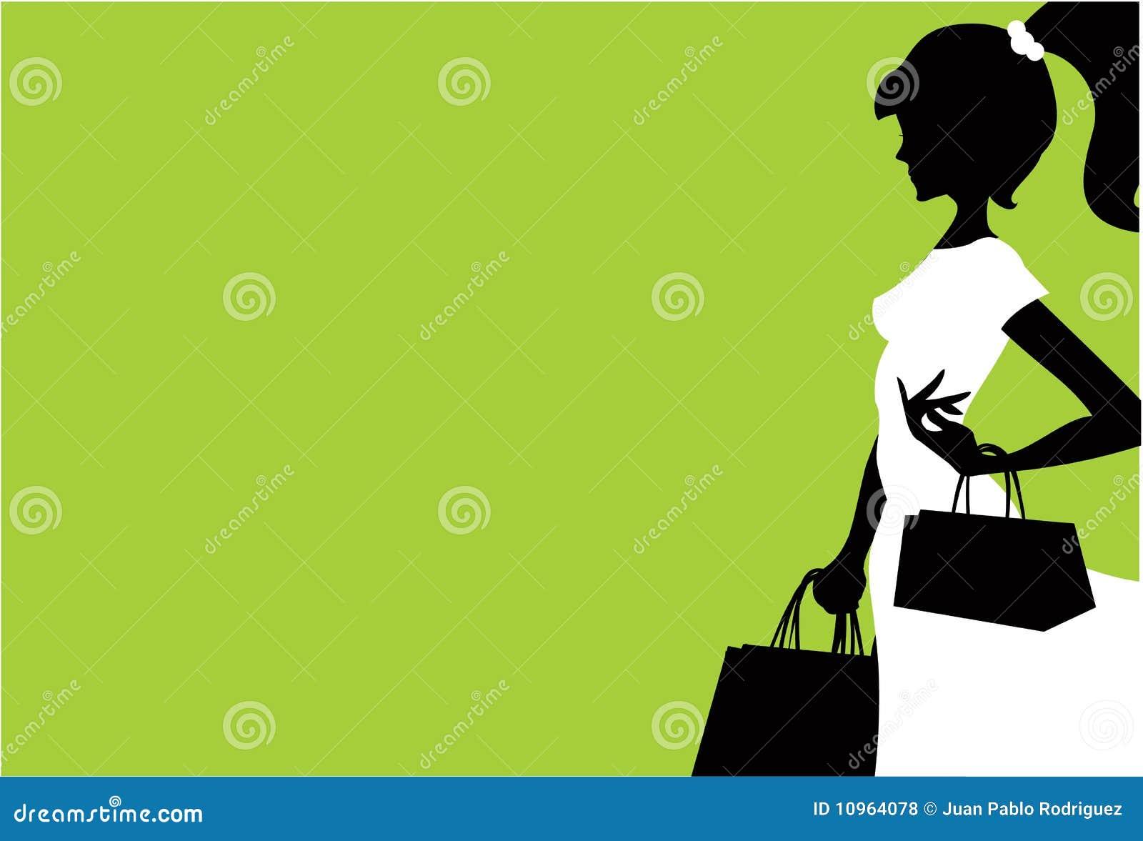 Royalty Free Stock Photos: Women shopping