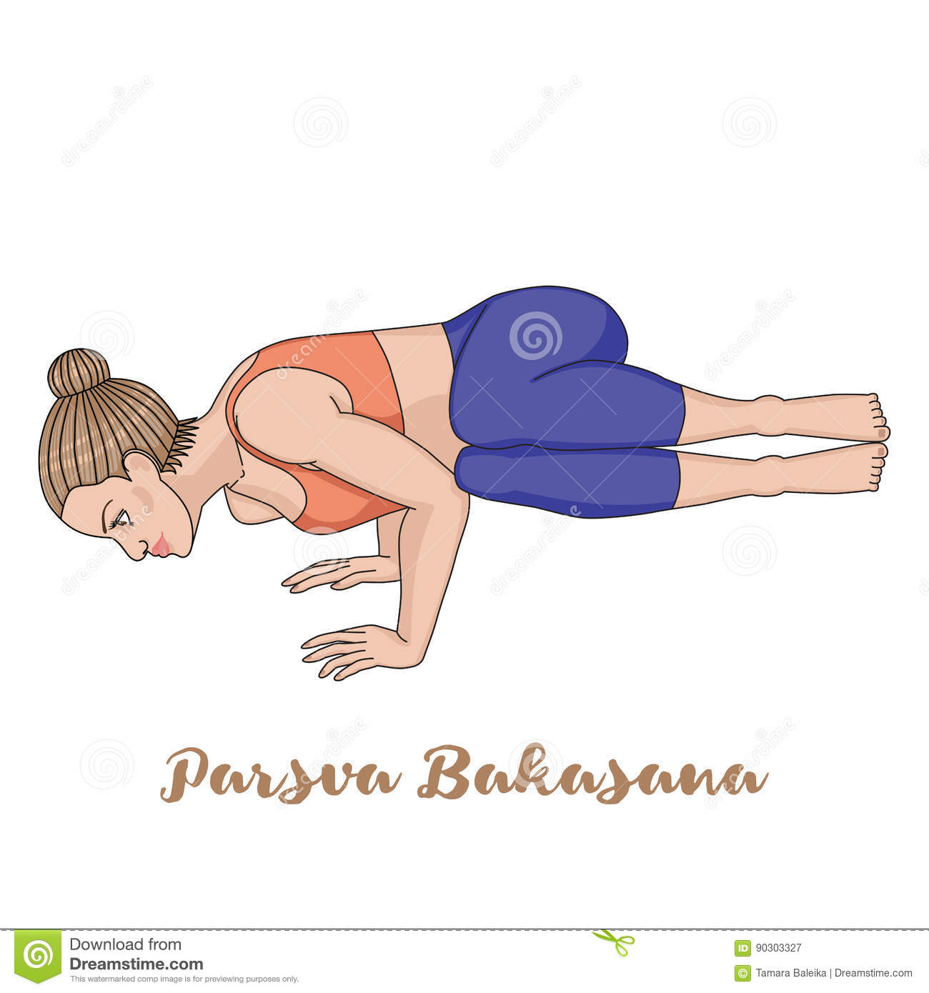 Bakasana Cartoons, Illustrations & Vector Stock Images ...