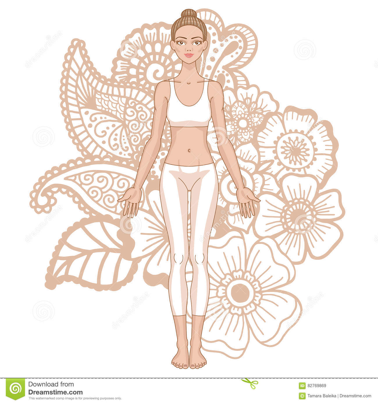 Tadasana Cartoons Illustrations Amp Vector Stock Images