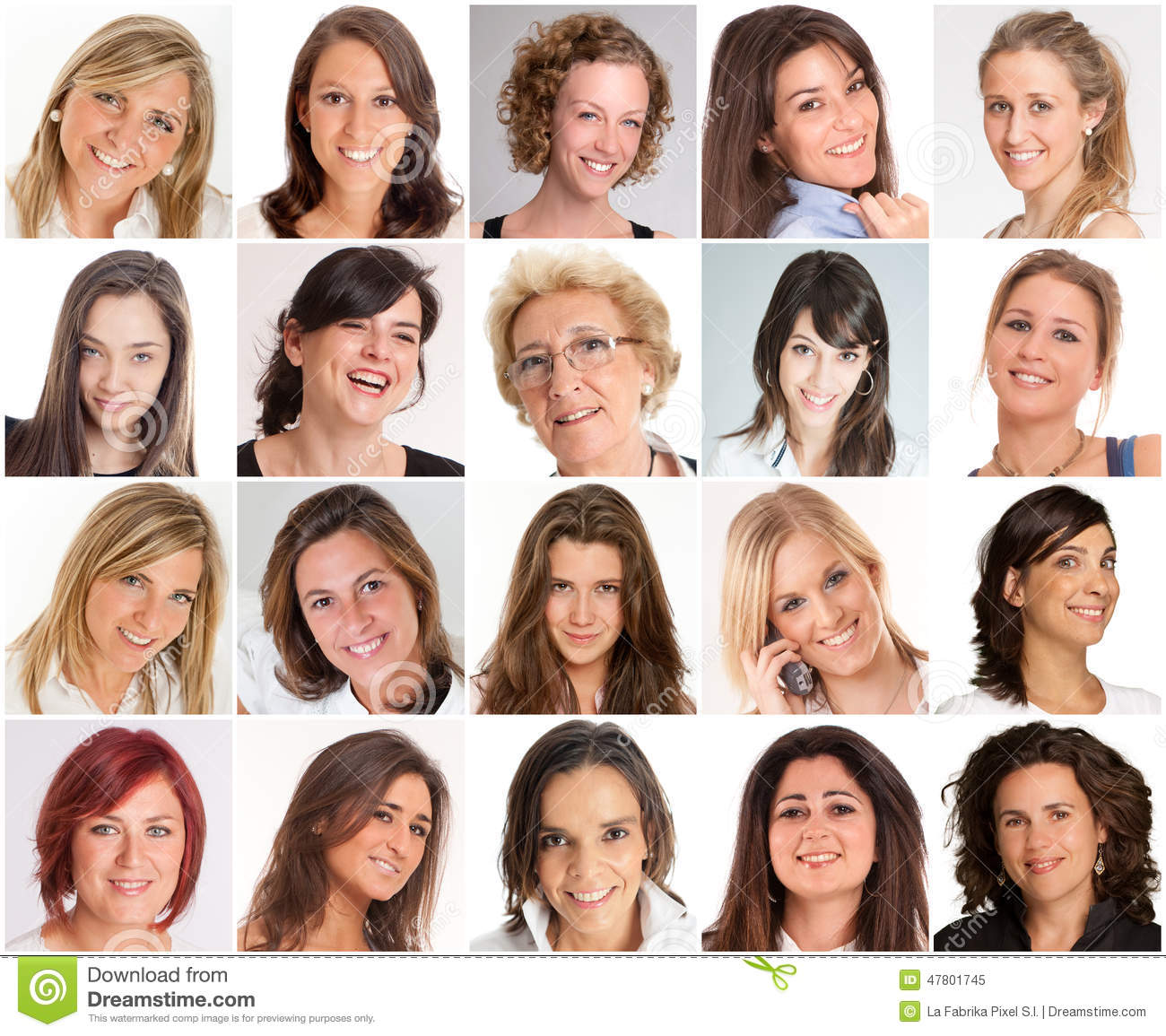 types of smiles There are three classic types of smiles that include the following: mona lisa (two- thirds of people): the corners of the mouth are pulled up and out.