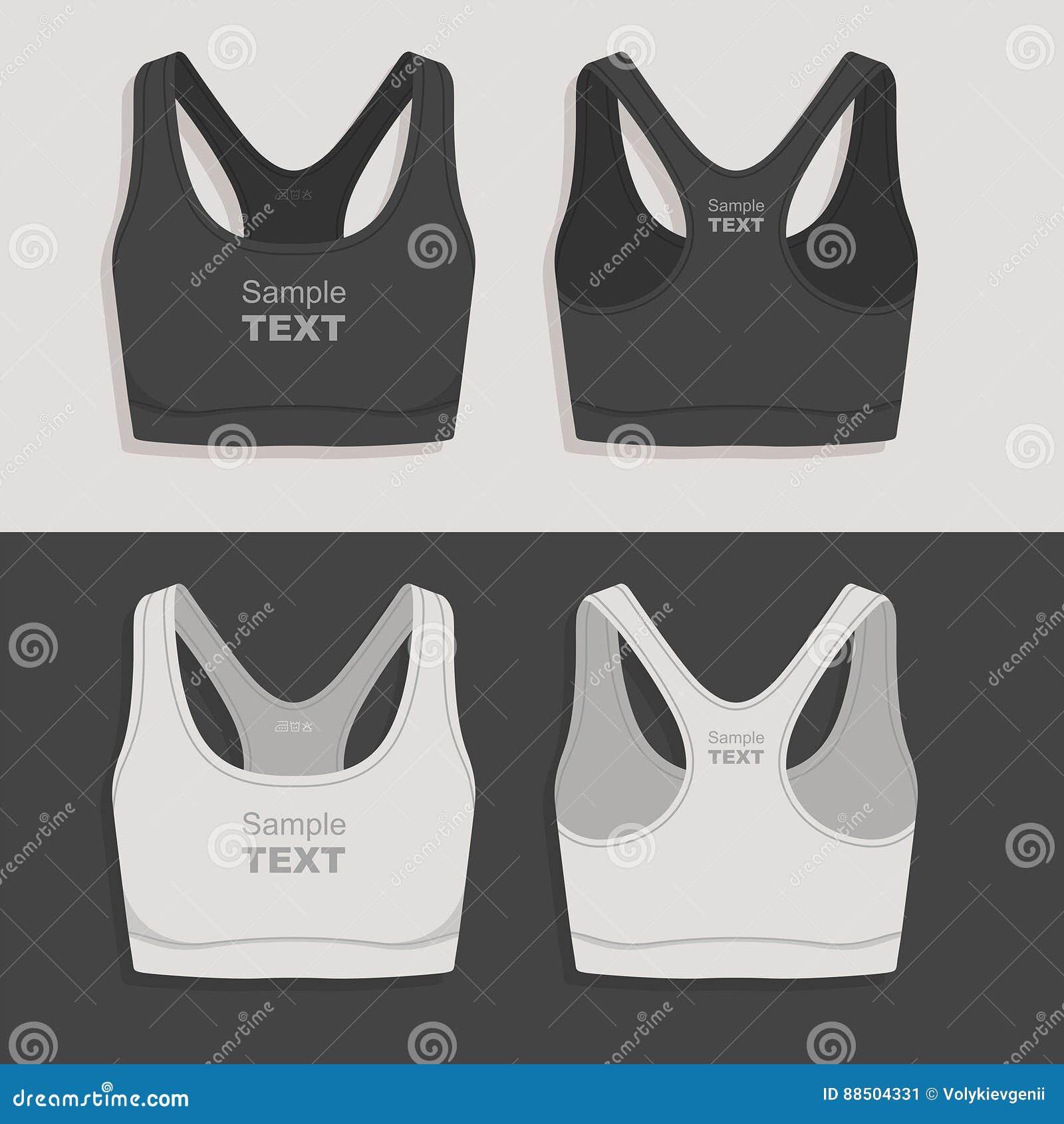 f7040ce6c1 Women sport bra stock vector. Illustration of torso