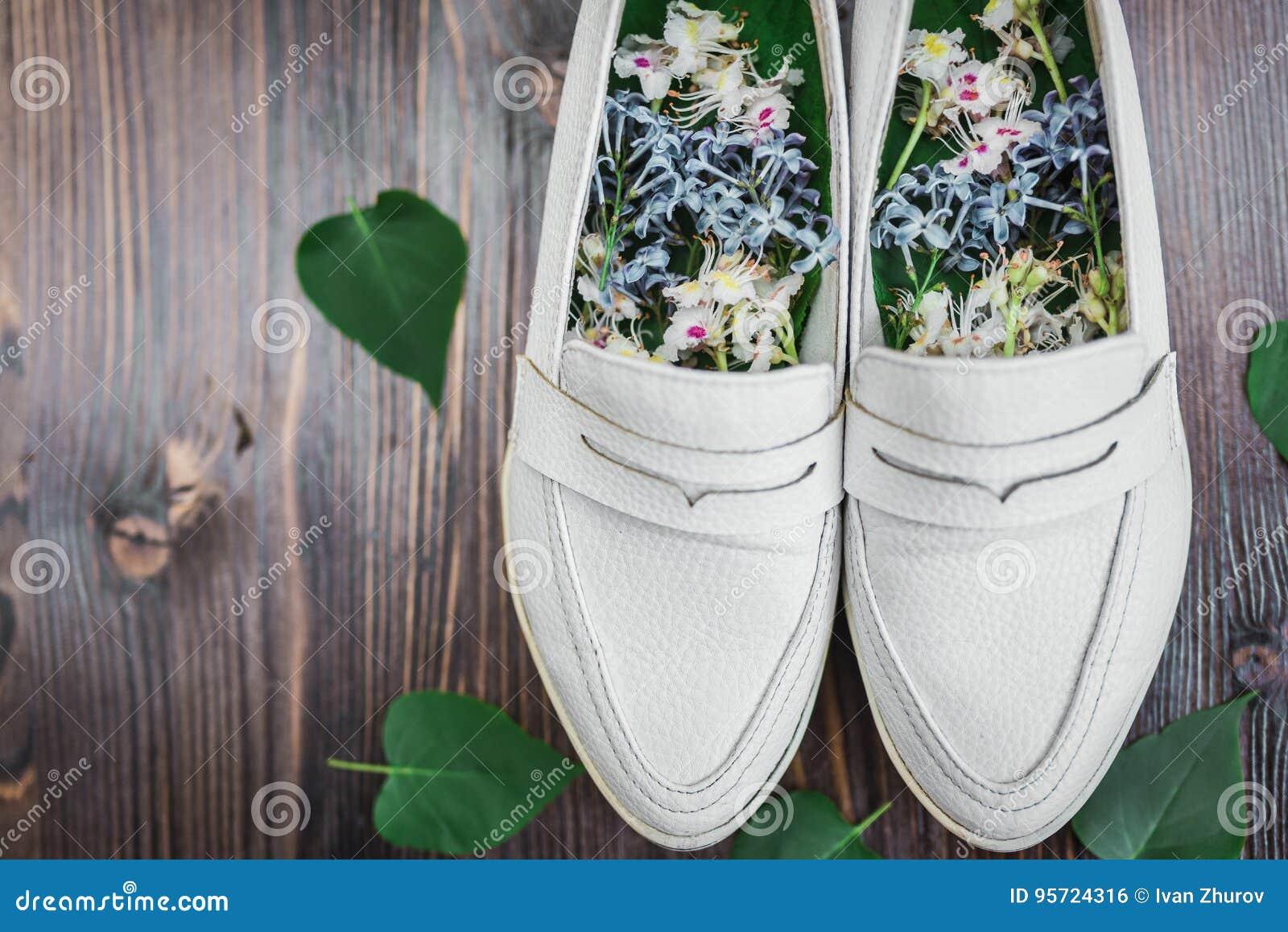X27; Blancos Las De En Con amp; S Frescas Zapatos La Flores Women cF35ulK1TJ