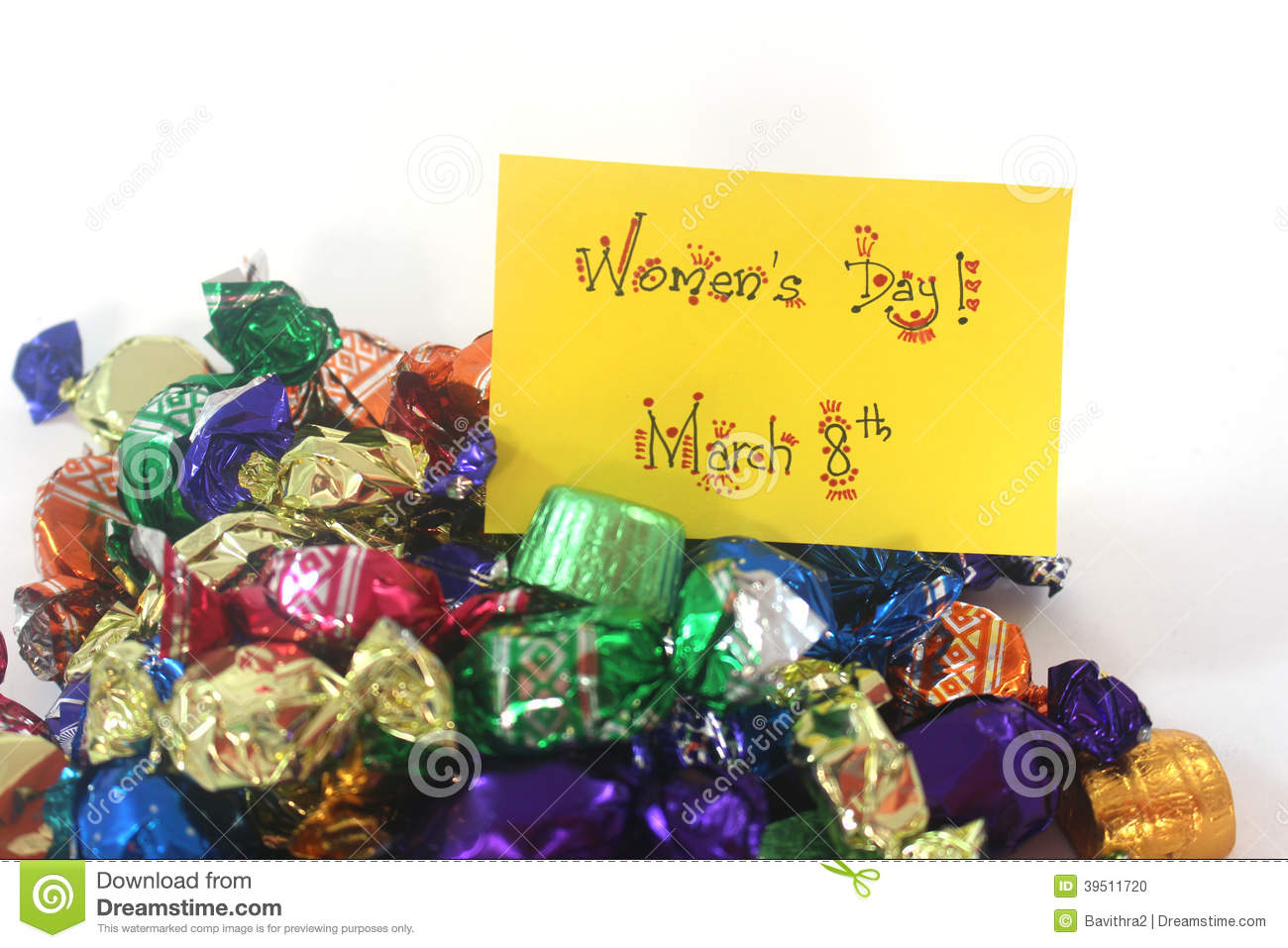 Womens day chocolates