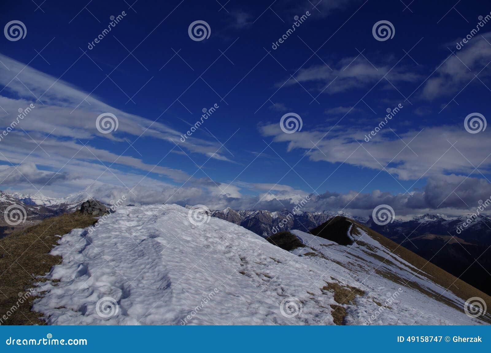landscape sky clouds snow - photo #45