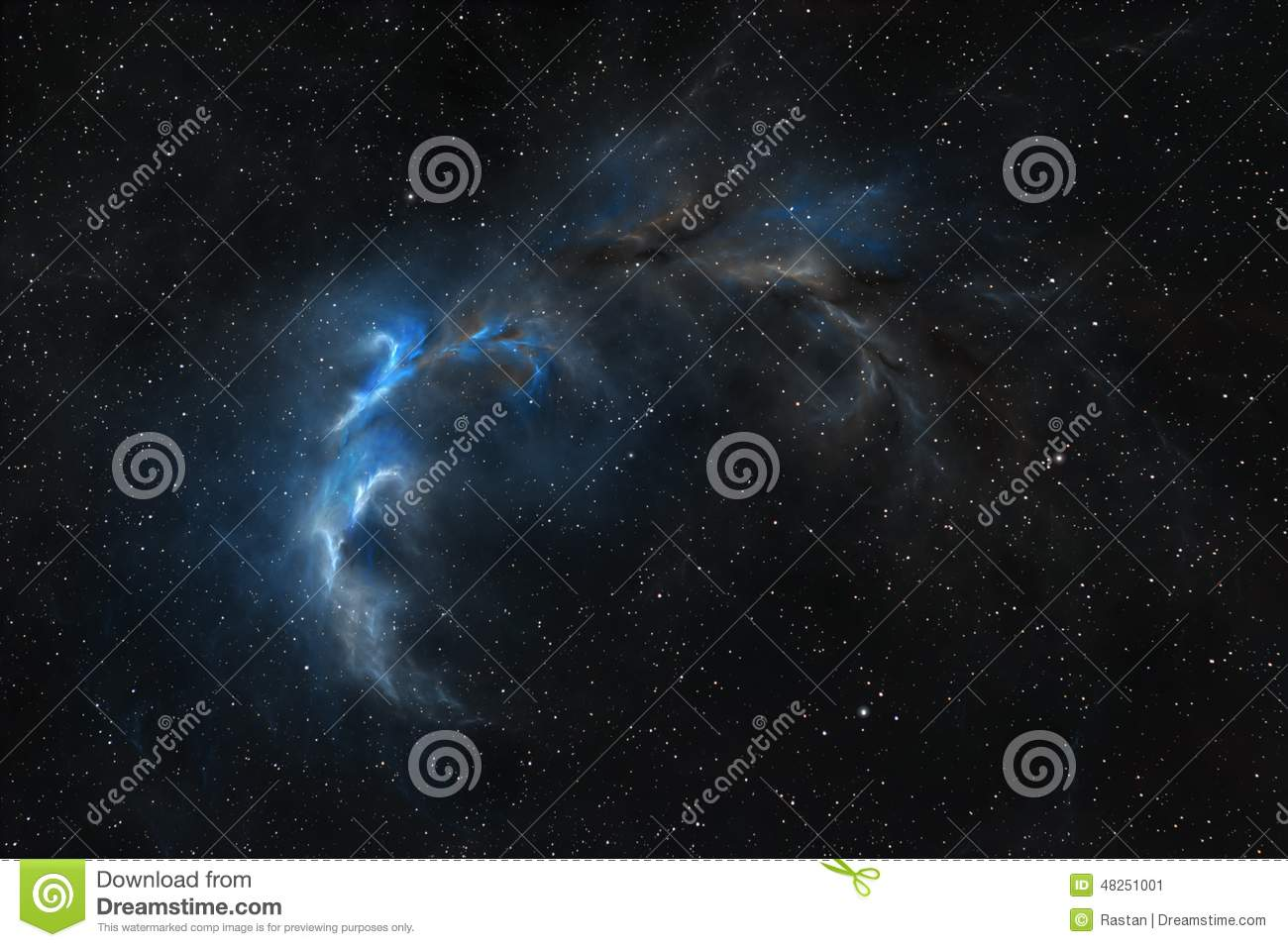 Wonders Of Space Stock Illustration - Image: 48251001