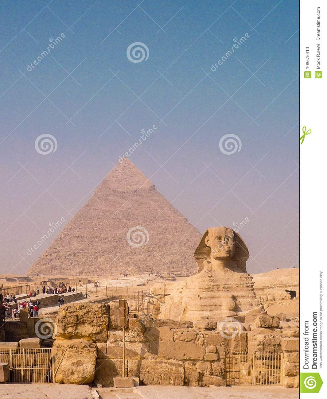 wonders of the world pyramid editorial image image of sphinx